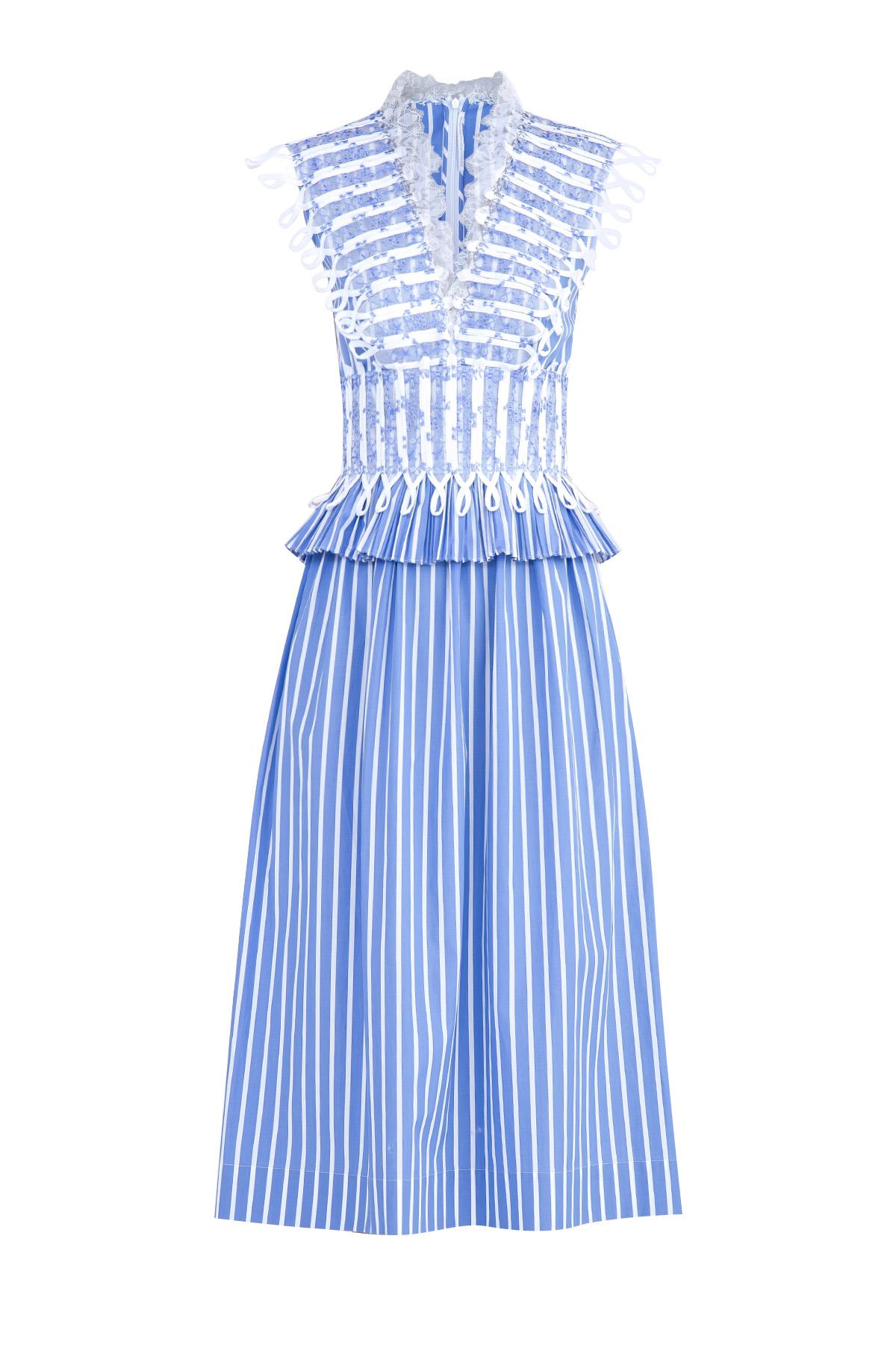 Купить Платье, ERMANNO SCERVINO, Италия, хлопок 100%