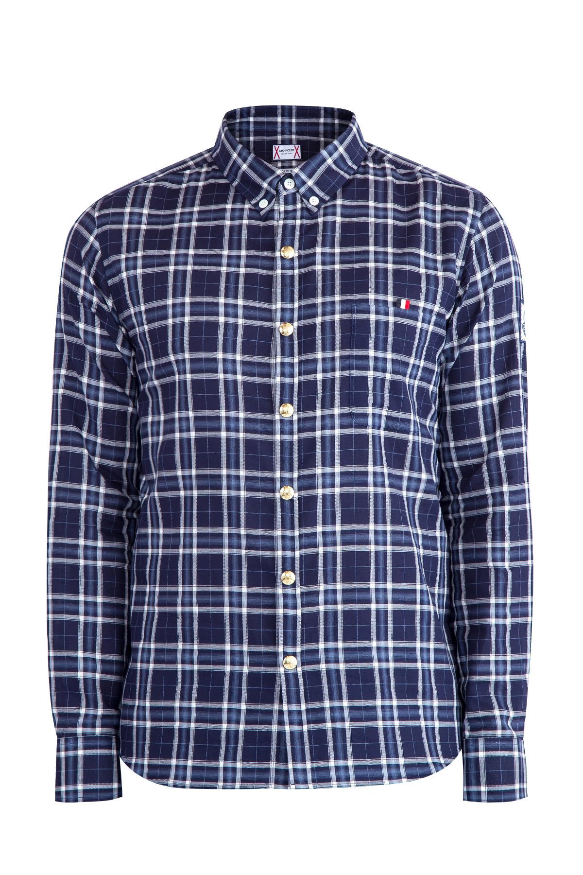 Купить Рубашка, MONCLER, Италия, хлопок 100%