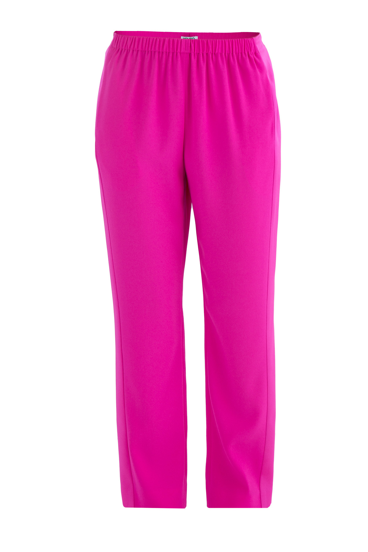 Яркие брюки с лампасами на боковых швах