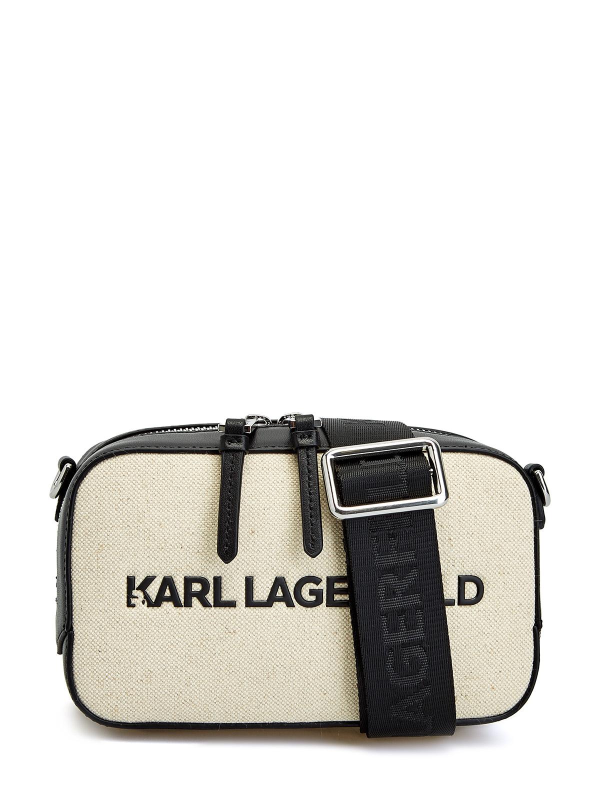 Минималистичная сумка K/Skuare из хлопковой парусины