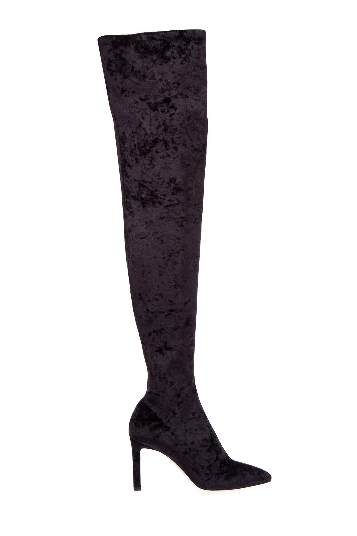 женские ботфорты на каблуке jimmy choo