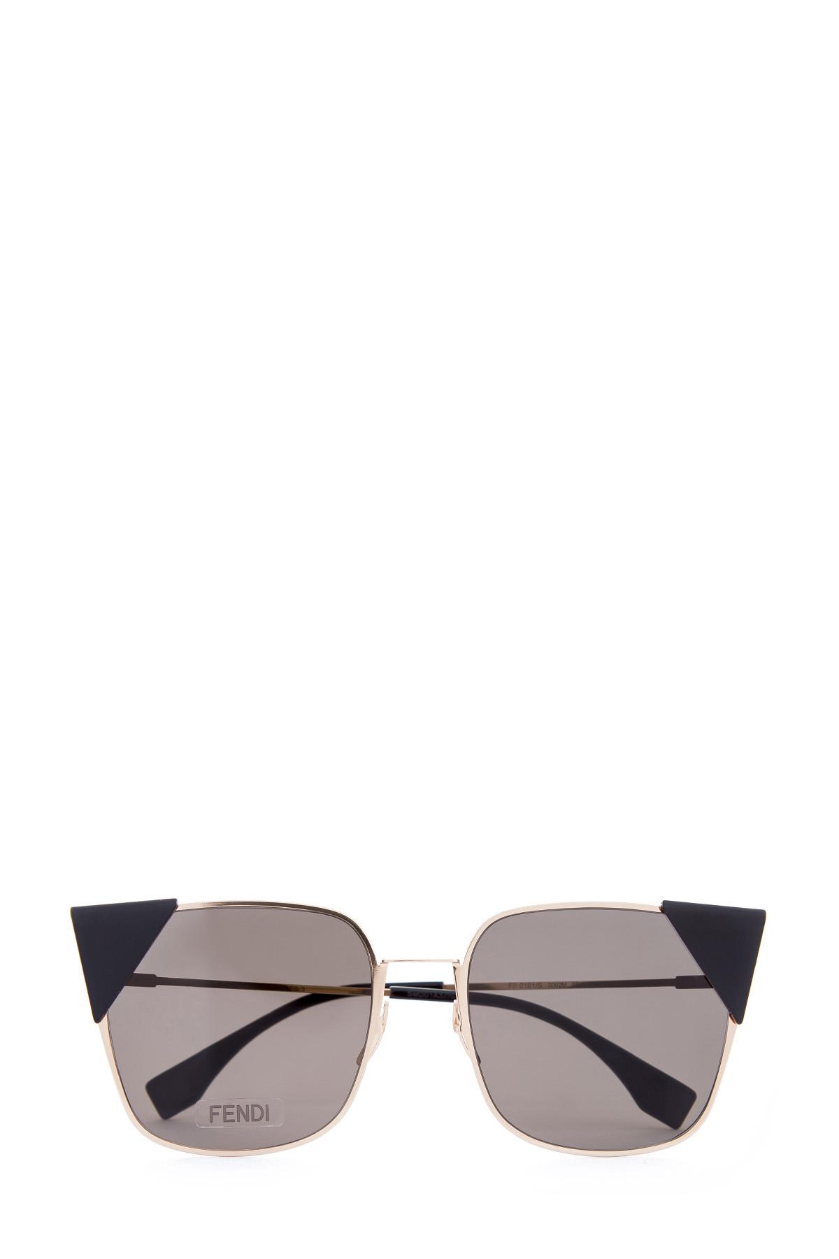 Купить Очки, FENDI (sunglasses), Италия, пластик 100%, стекло 100%, металл 100%