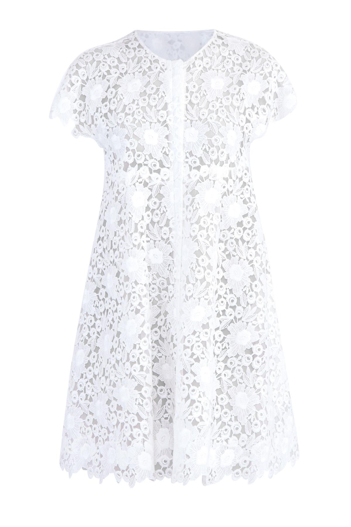 Купить Платье, MONCLER, Италия, хлопок 85%, полиэстер 15%, шелк 100%