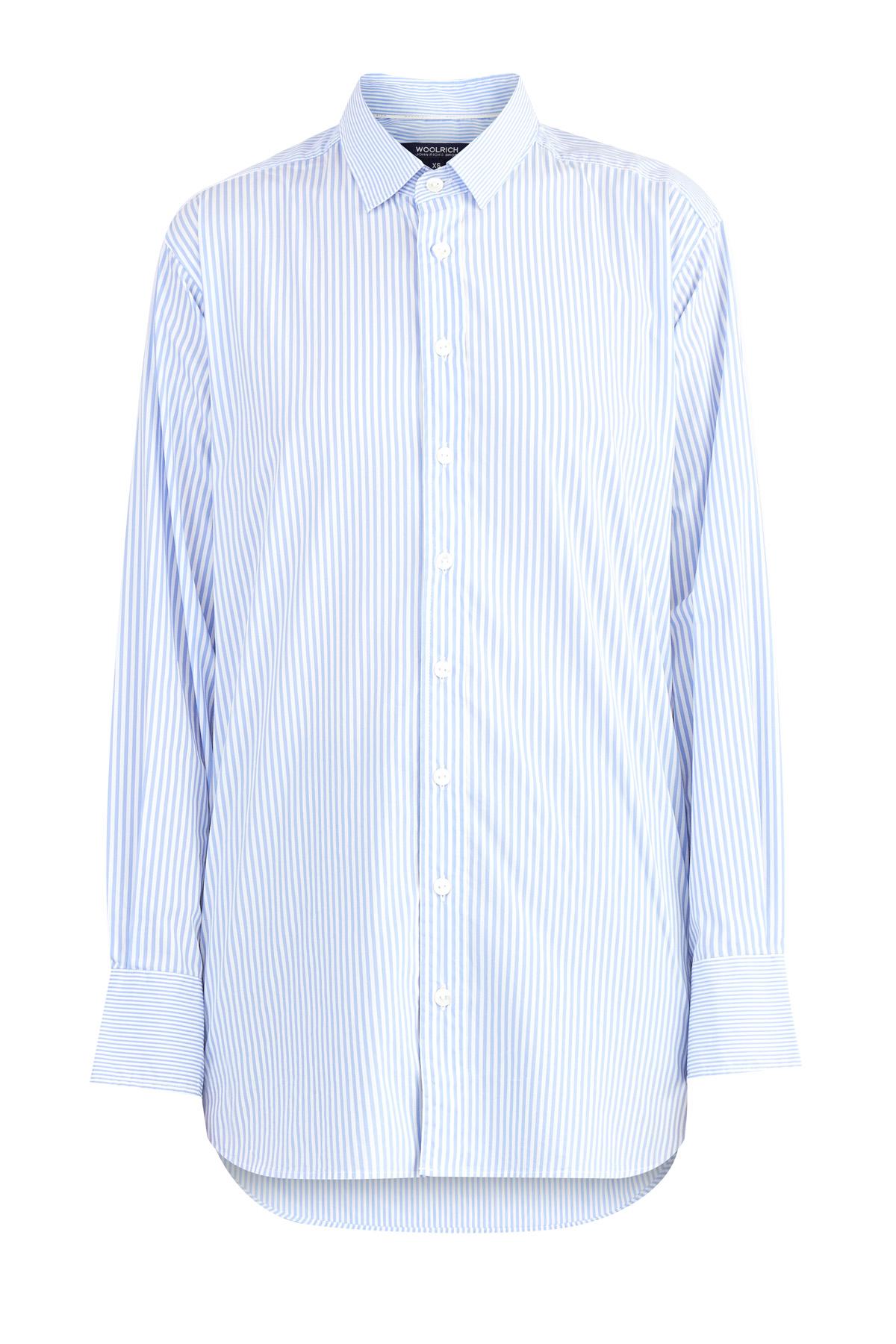 Купить Рубашка, WOOLRICH, Италия, хлопок 75%, полиамид 21%, эластан 4%