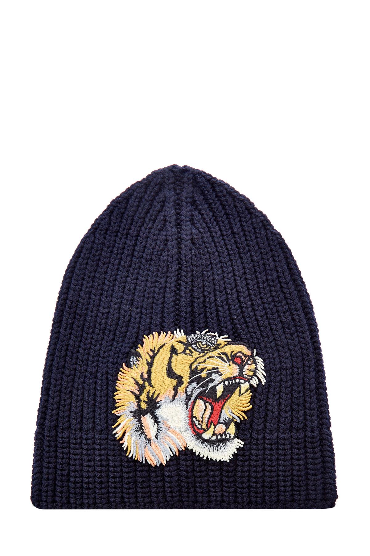 мужская шапка gucci