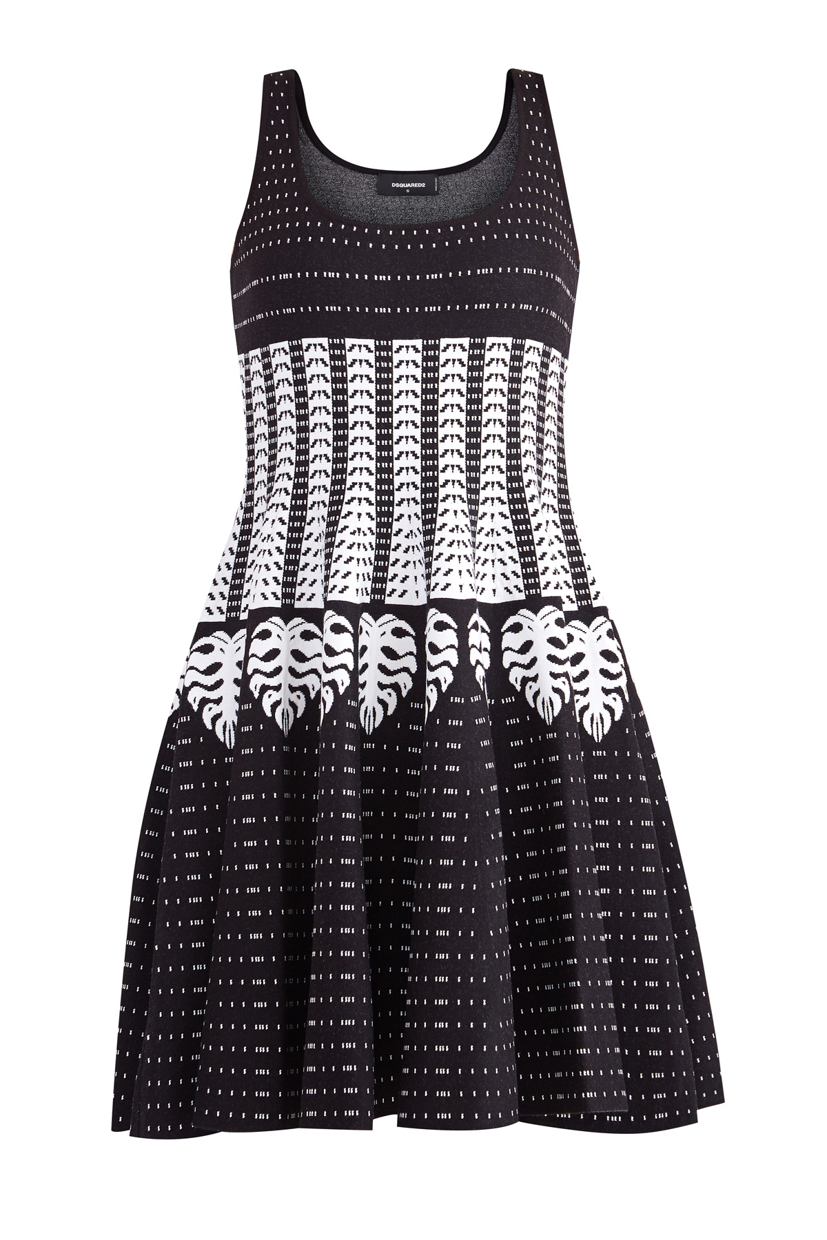 Купить Платье, DSQUARED2, Италия, вискоза 70%, полиэстер 30%