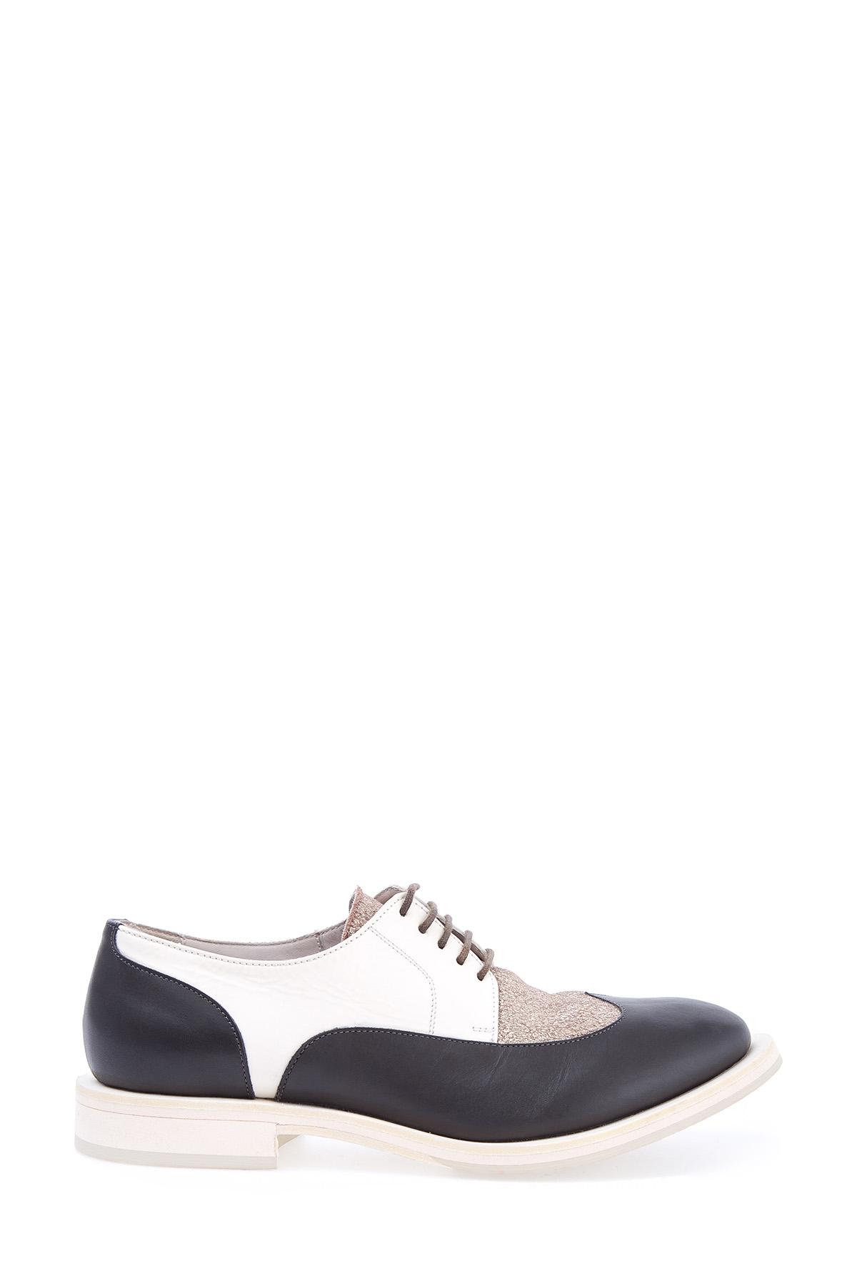 Купить Ботинки-дерби из сочетания трех видов кожи со шнуровкой, BRUNELLO CUCINELLI, Италия, кожа 100%
