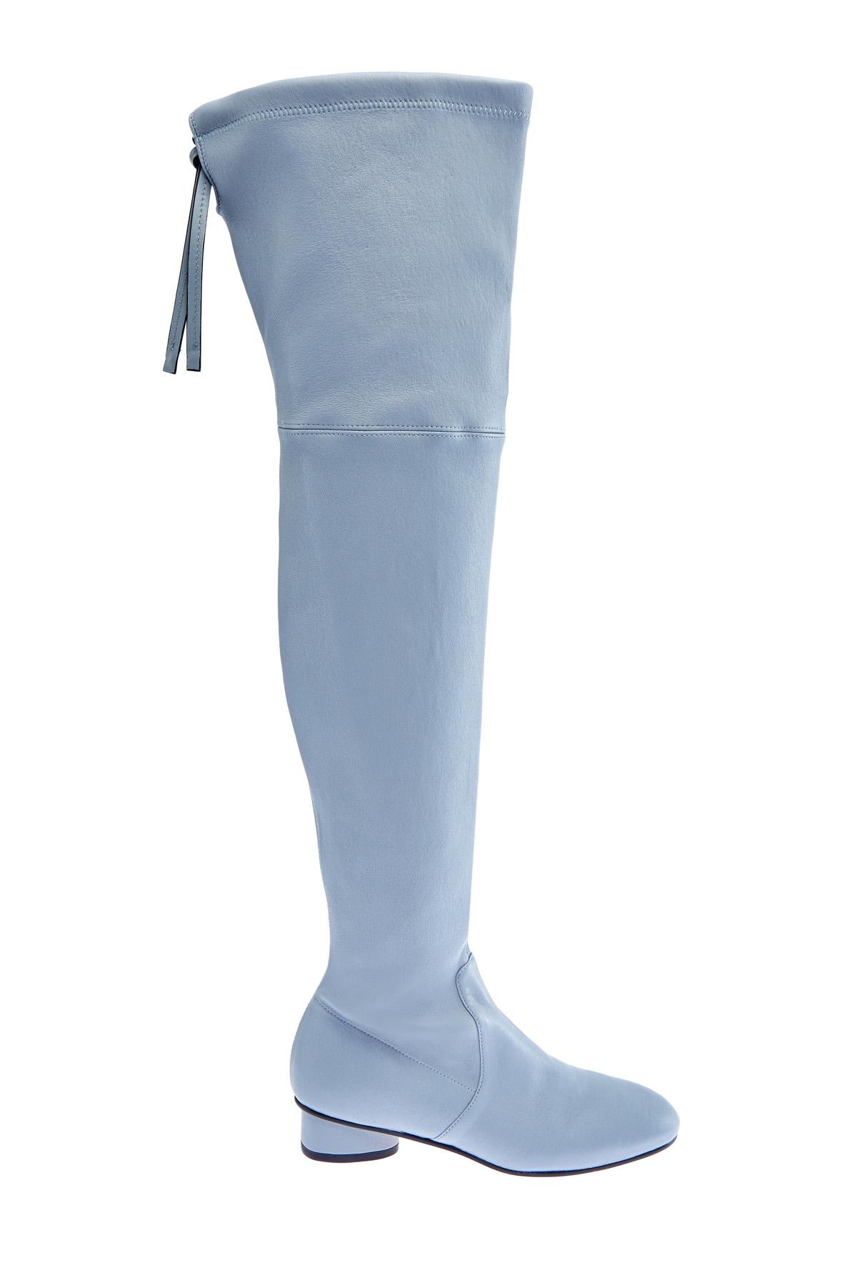 женские ботфорты на каблуке stuart weitzman