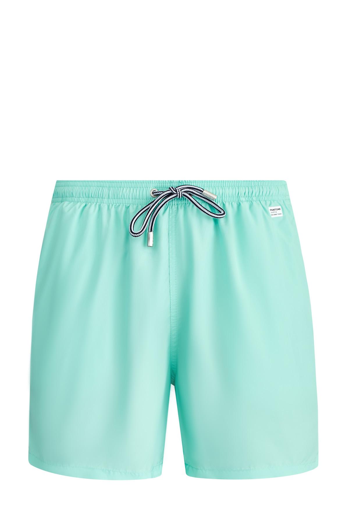 Купить Плавательные шорты в оттенке Pantone «Beveled Glass», MC2 SAINT BARTH, Италия, полиэстер 100%