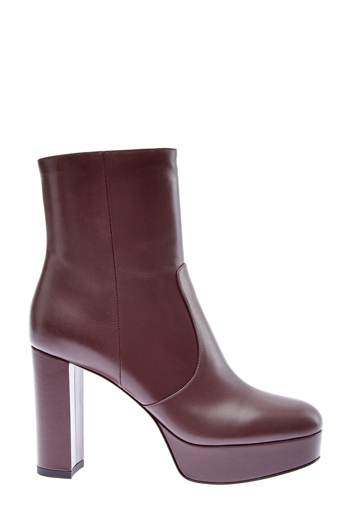 женские ботильоны на каблуке gianvito rossi