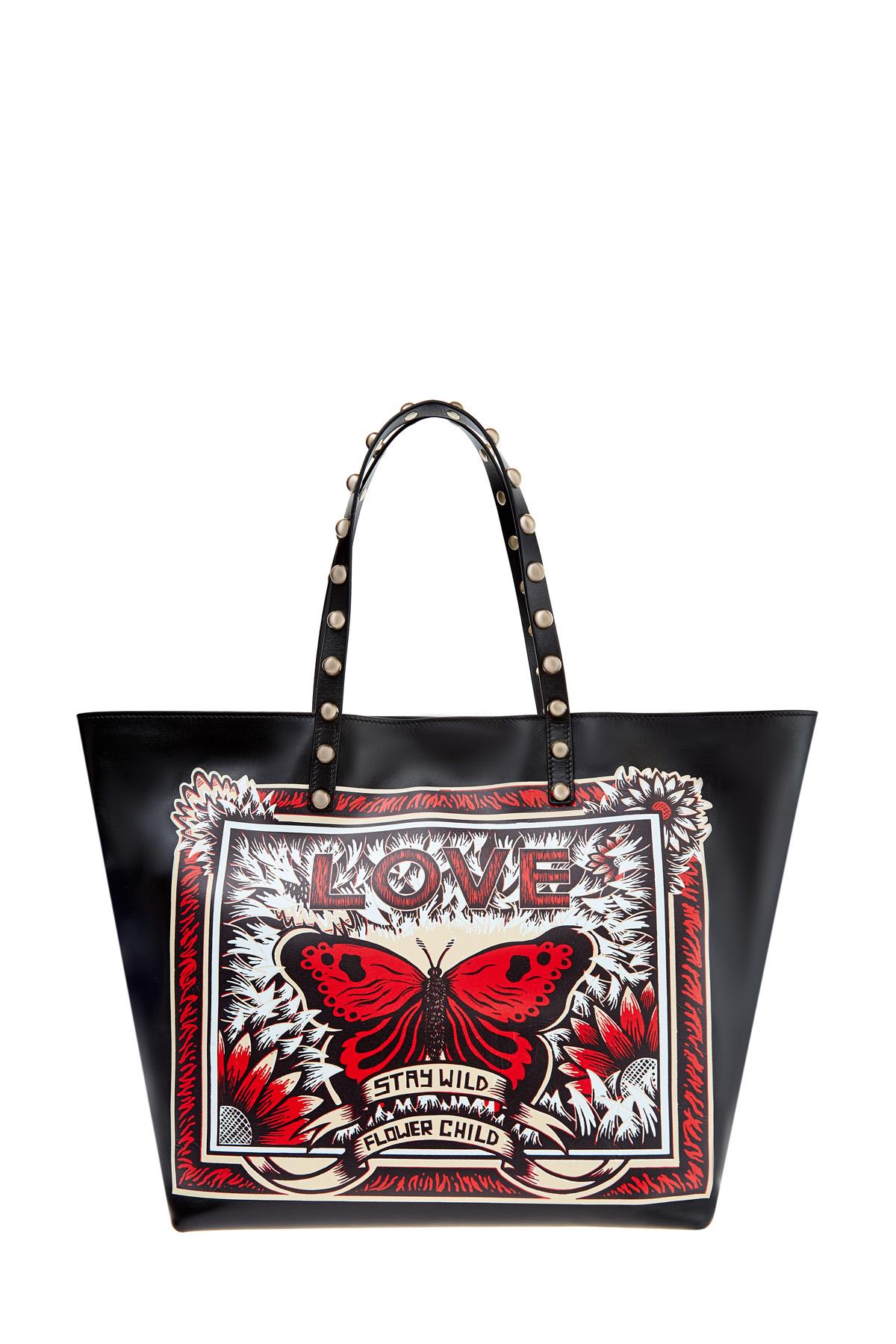 женская сумка red valentino