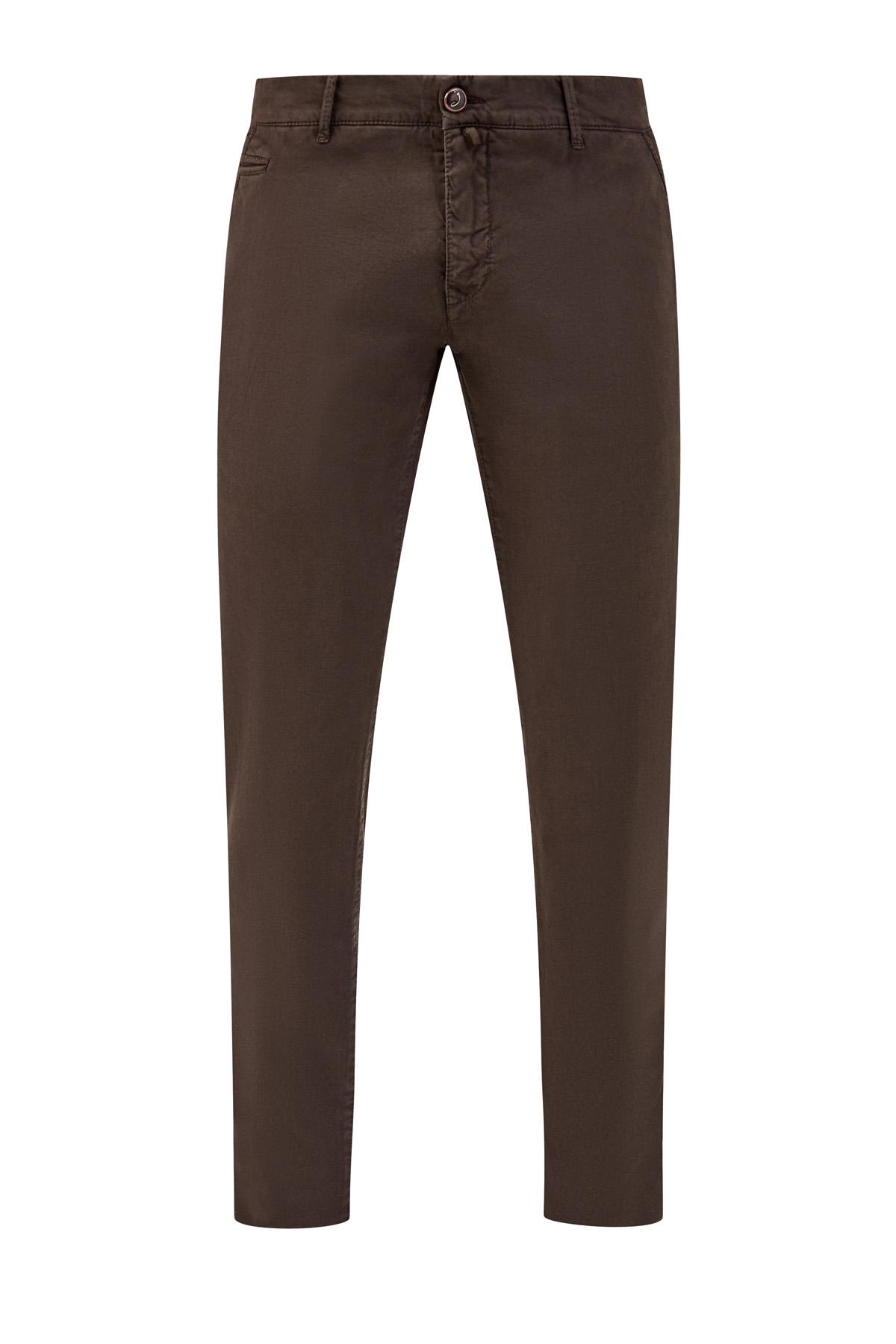 Хлопковые брюки-чинос ручной работы