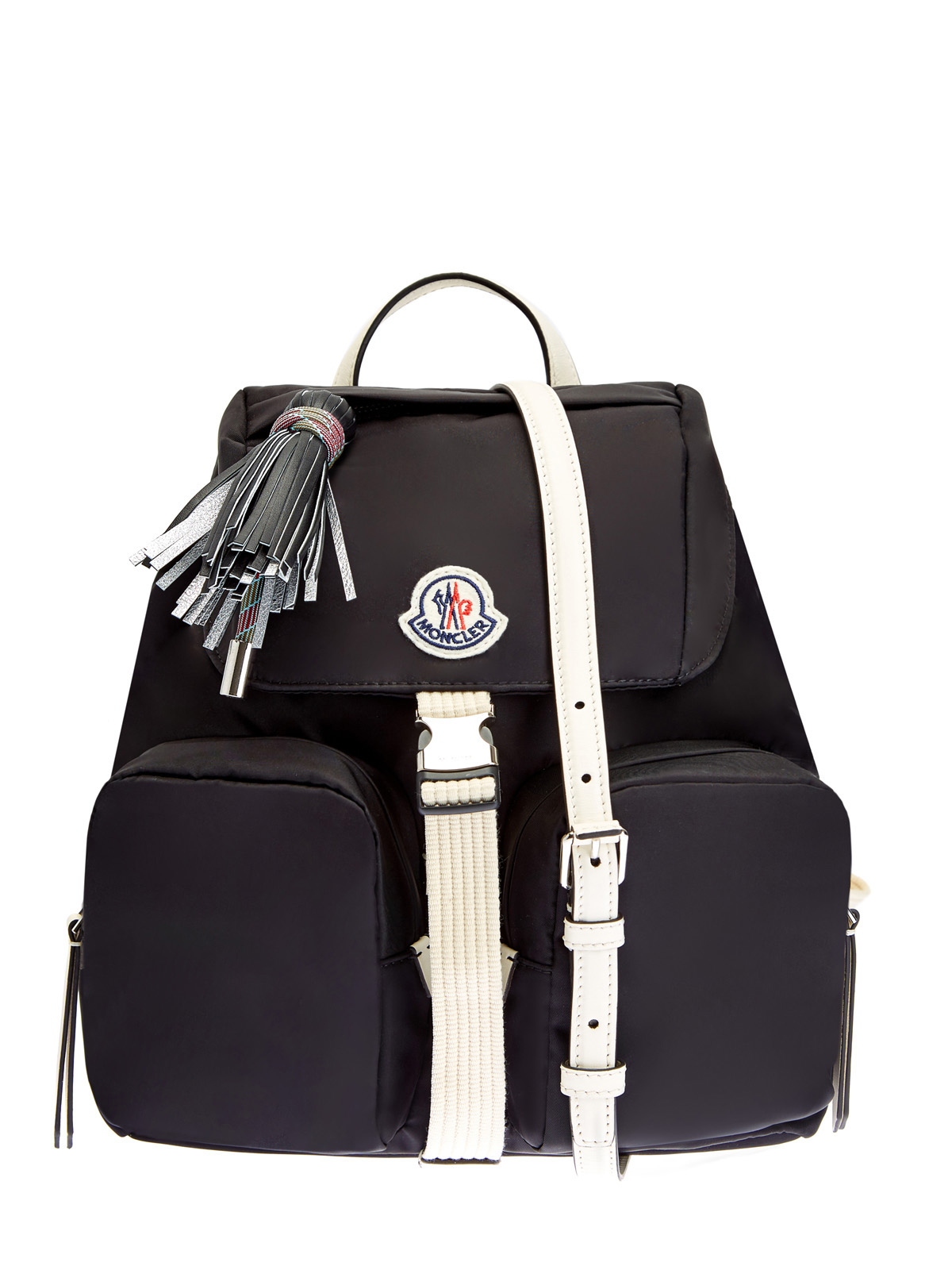 Нейлоновый рюкзак Dauphine с отделкой из матовой кожи