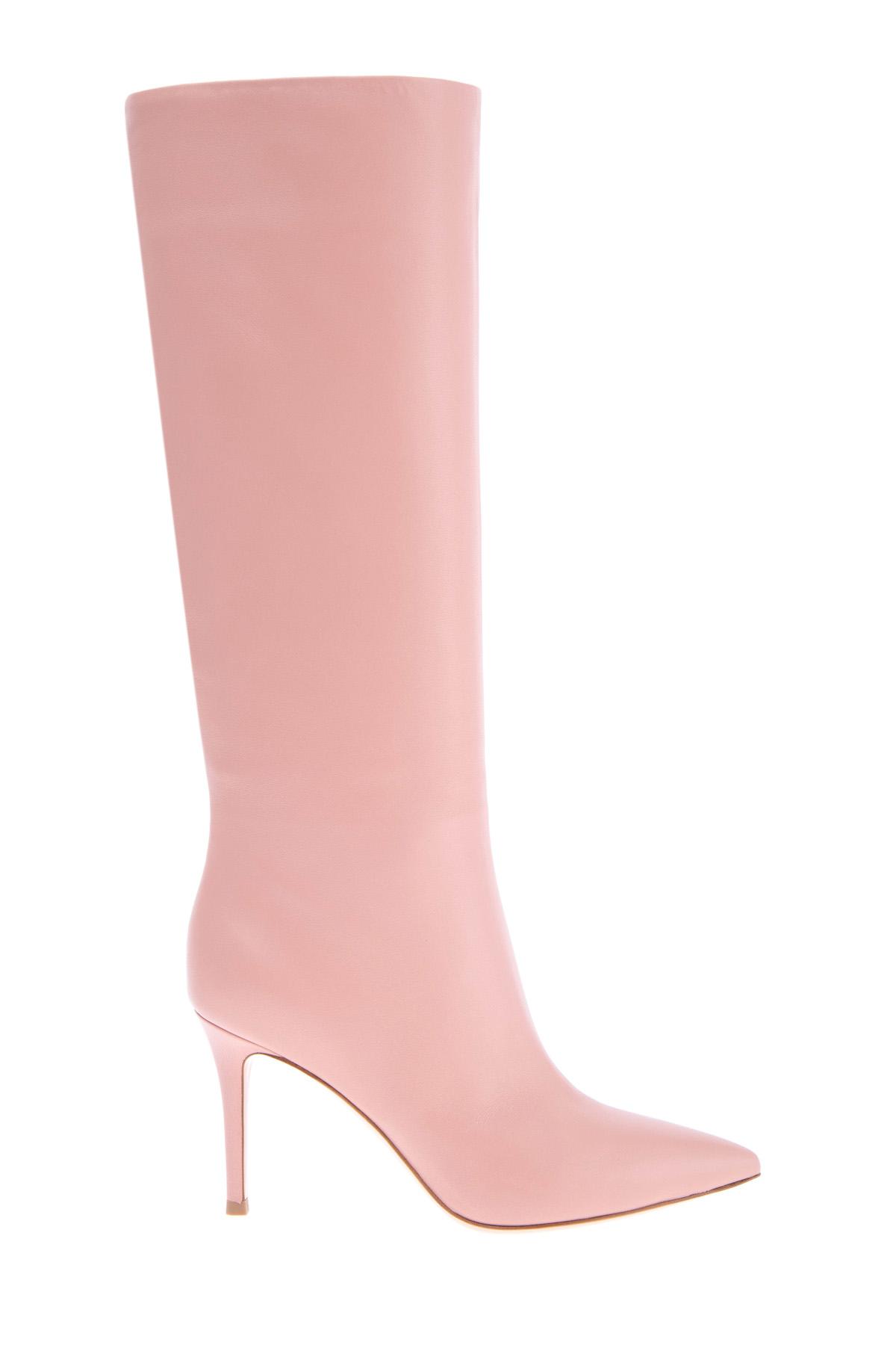 женские сапоги на каблуке gianvito rossi