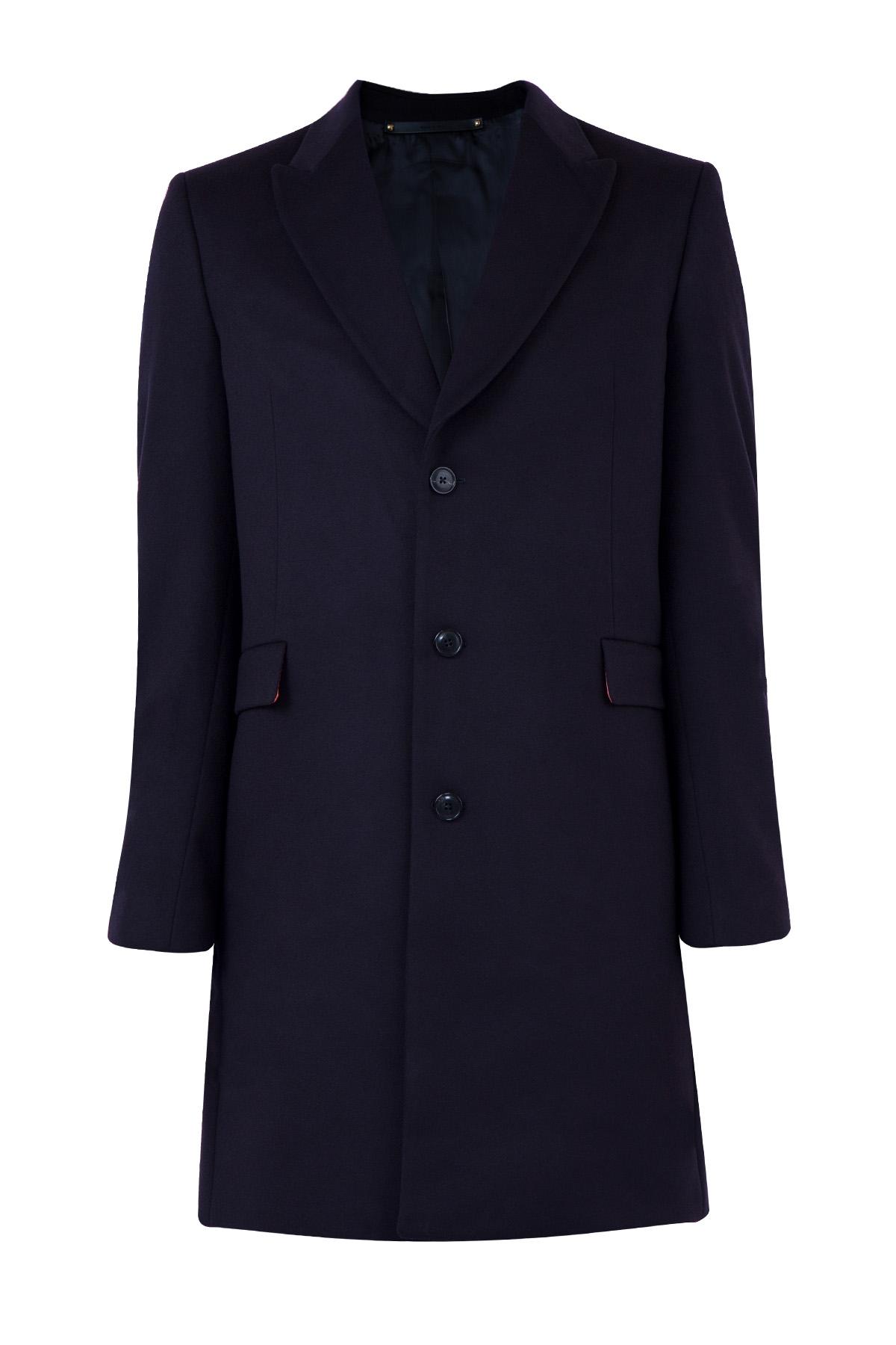 Купить Пальто, PAUL SMITH, Италия, шерсть 90%, кашемир 10%