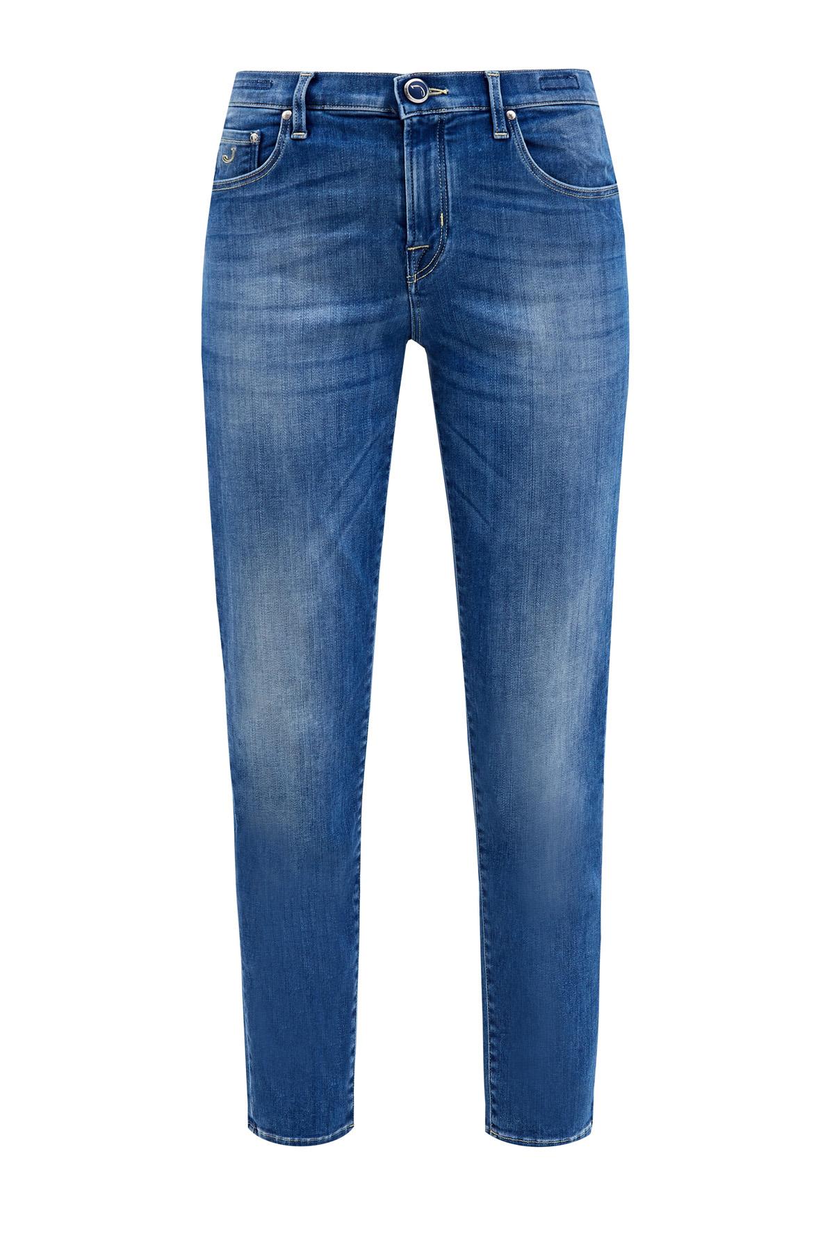 Прямые джинсы кроя Kimberly с выбеленным эффектом делаве