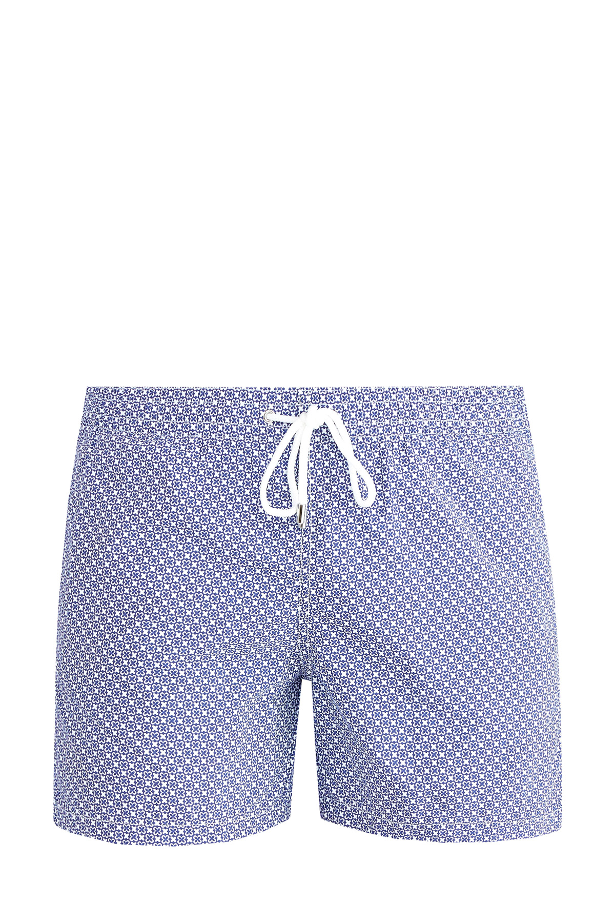 Плавательные шорты с микро-принтом и карманами
