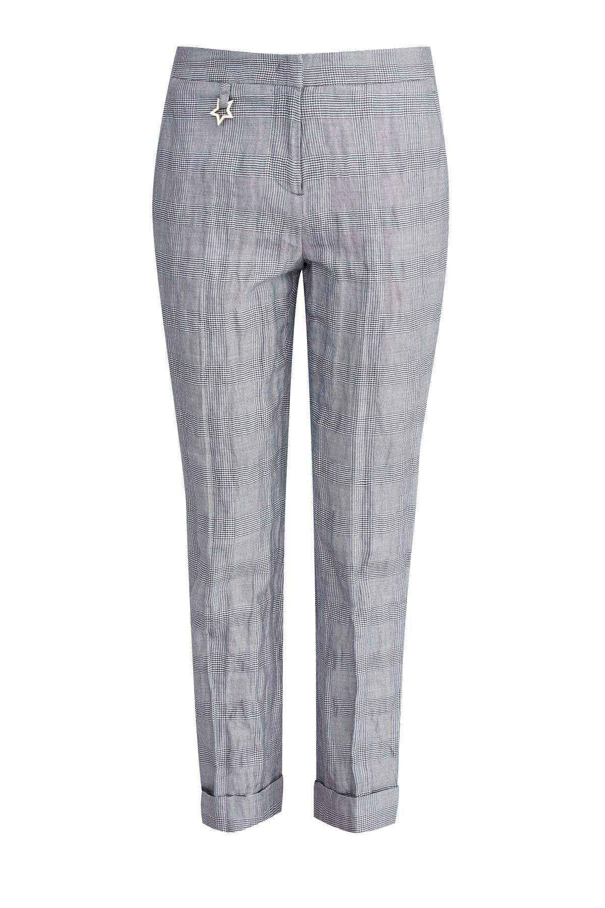 женские брюки с высокой посадкой lorena antoniazzi