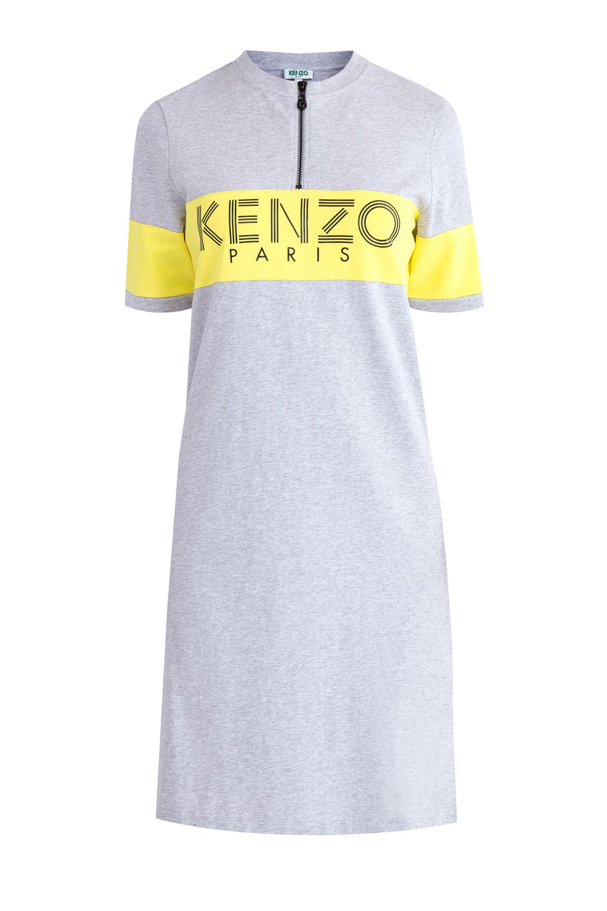 Купить Платье, KENZO, Франция, хлопок 100%