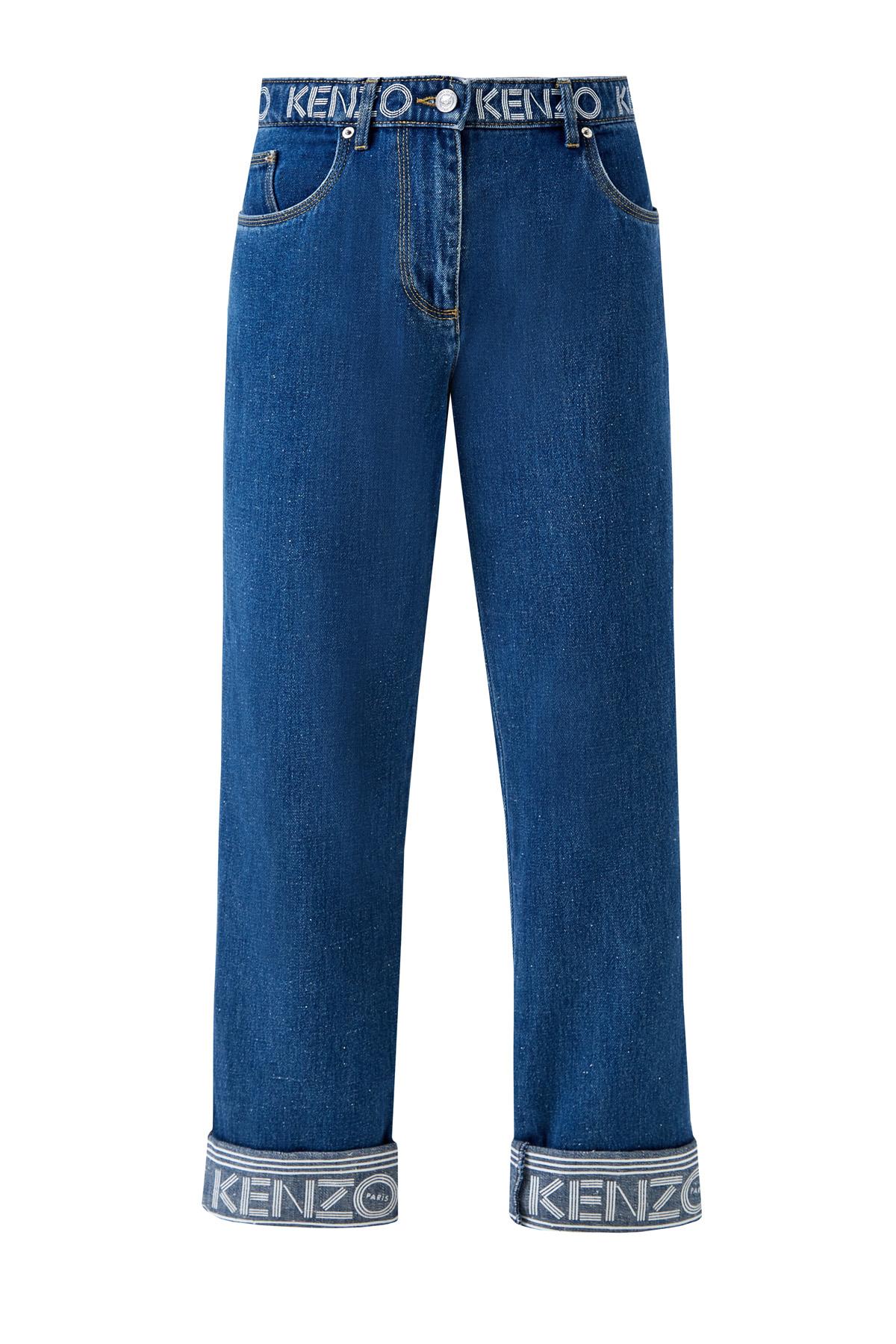 женские джинсы бойфренд kenzo