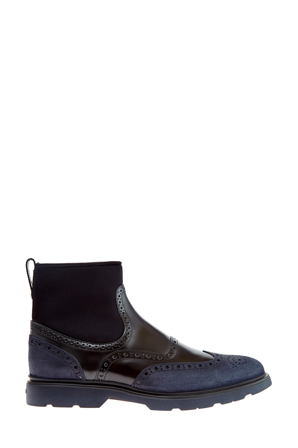 мужские ботинки hogan