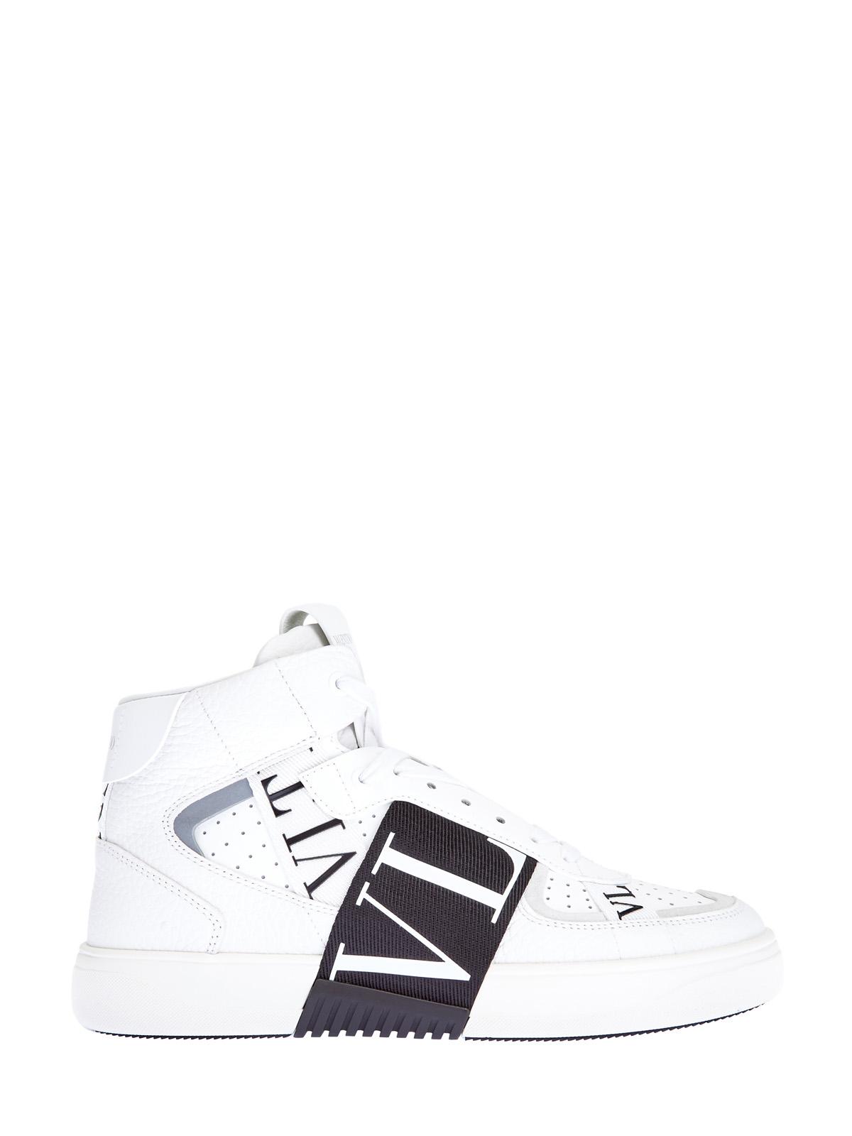 Высокие кроссовки VL7N с контрастной отделкой