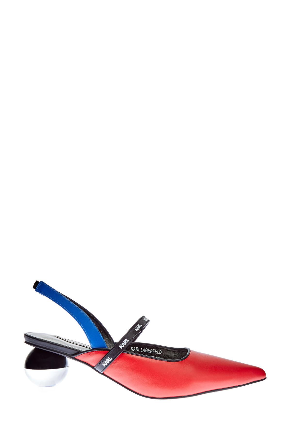Туфли-лодочки Vernazza из эко-кожи на архитектурном каблуке