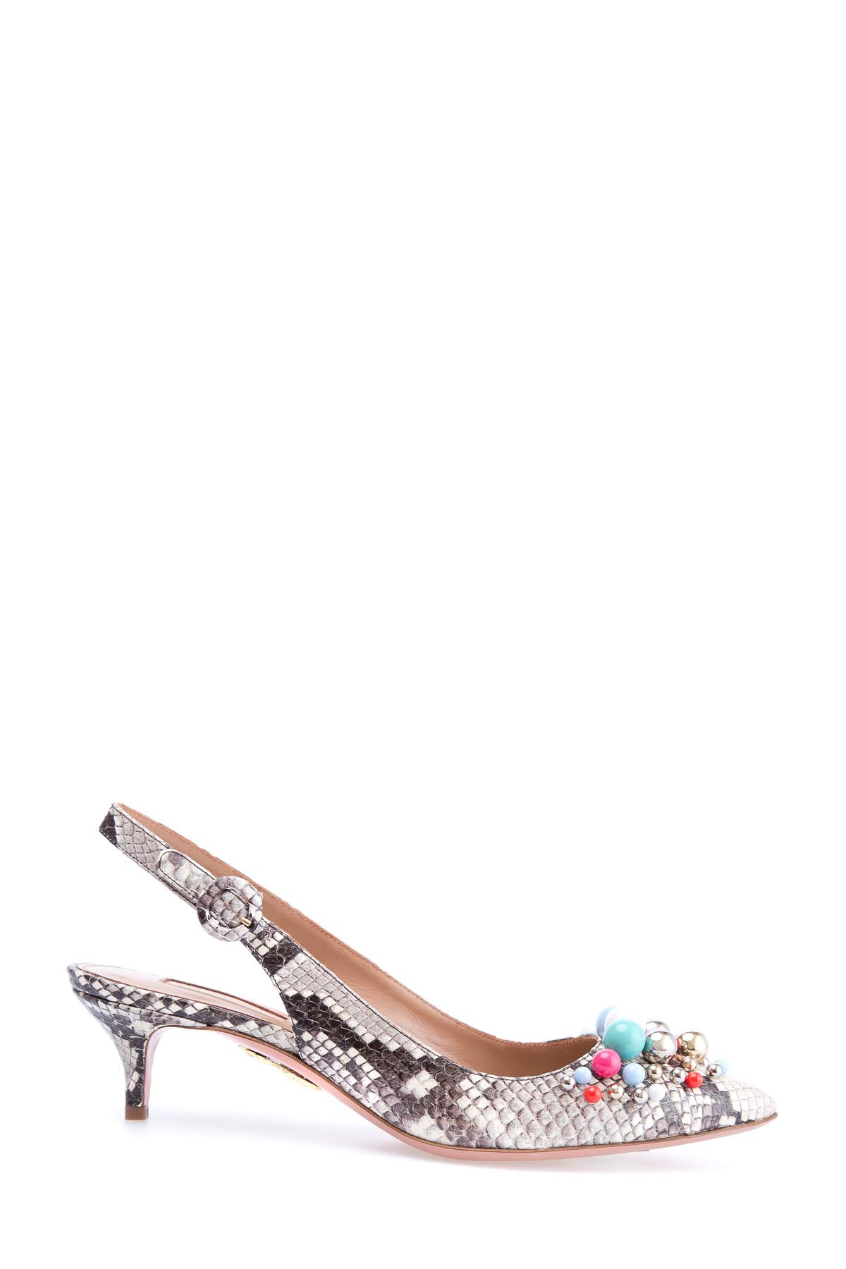 женские туфли на каблуке aquazzura