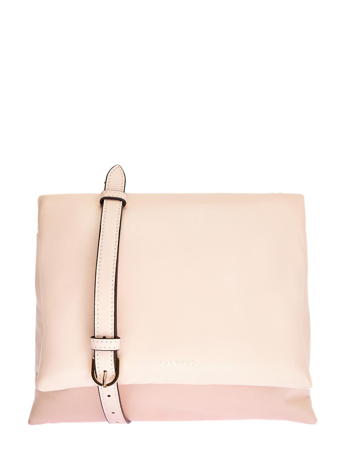 Пудровая сумка Sugar изматовой кожи наппа