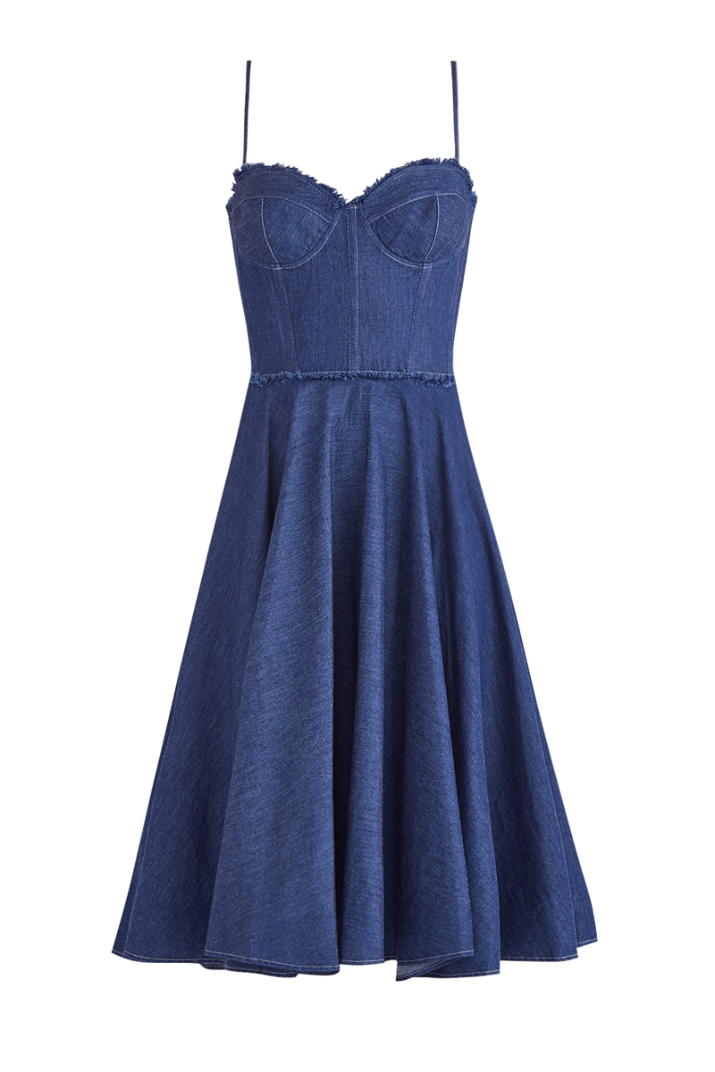 Купить Платье, ERMANNO ERMANNO SCERVINO, Италия, хлопок 100%
