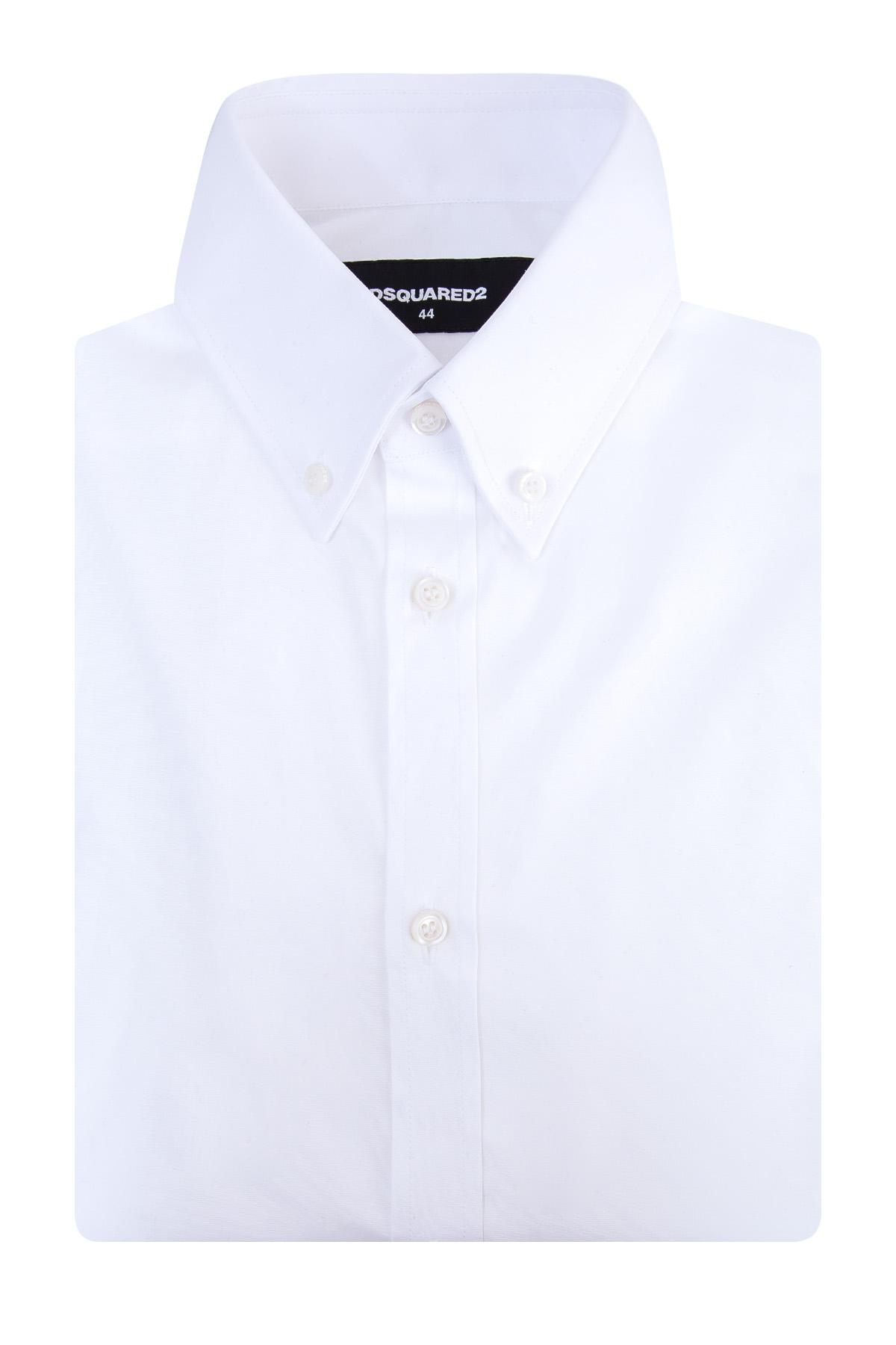 Купить Рубашка, DSQUARED2, Италия, хлопок 97%, эластан 3%