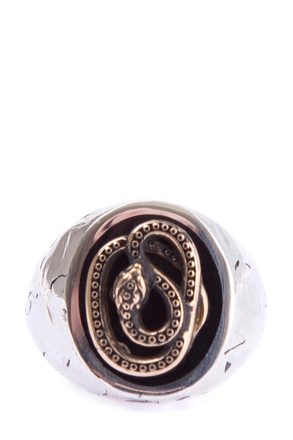 кольцоДругое<br><br>Материал: серебро 90% ,  бронза 10%;