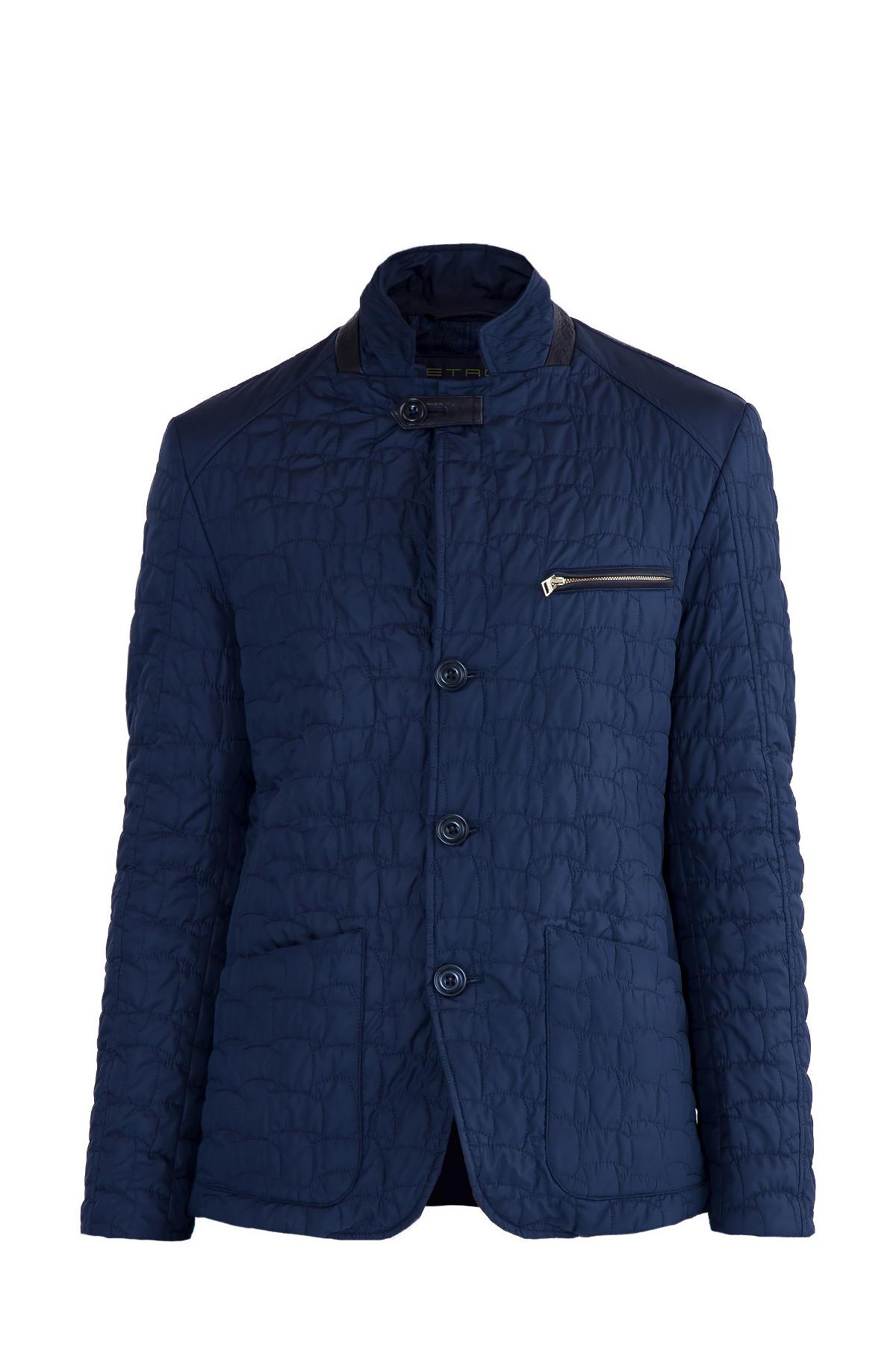 Купить Куртка, ETRO, Италия, полиэстер 100%, кожа 100%, хлопок 95%, эластан 5%, ацетат 60%, вискоза 40%