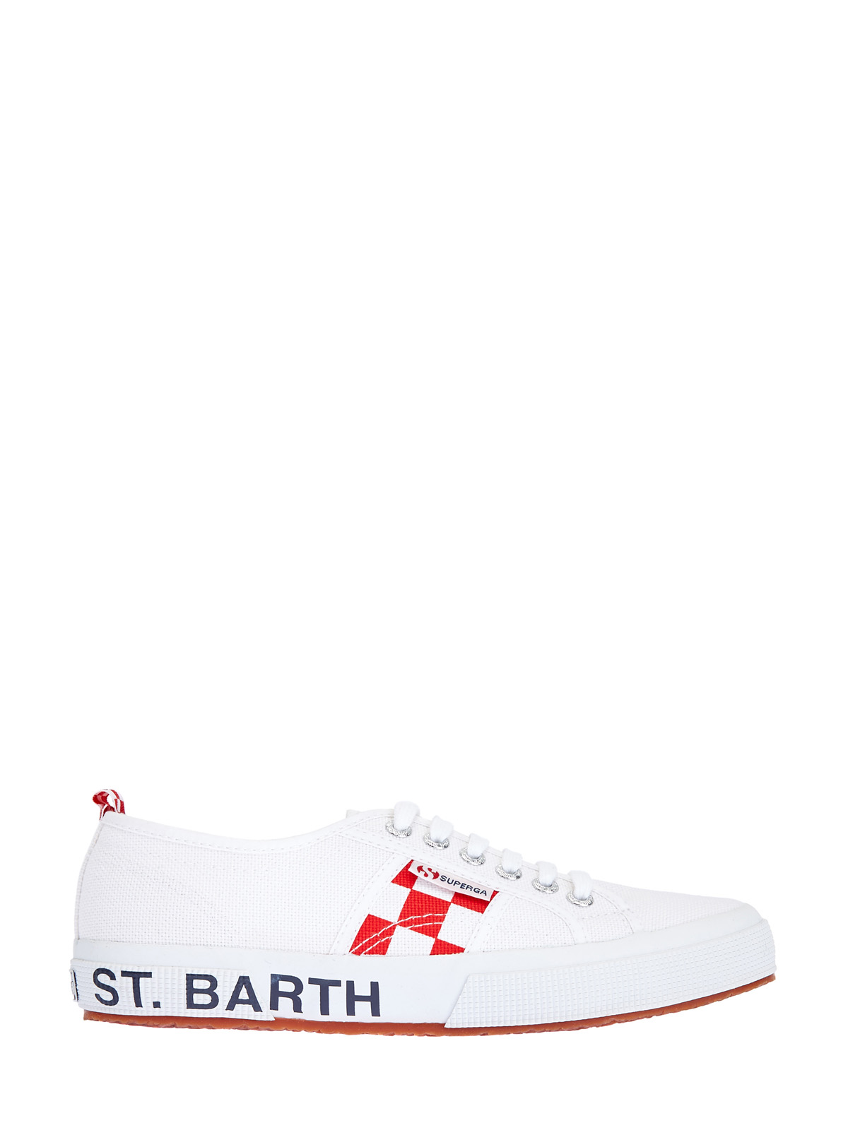 Хлопковые кеды Superga X MC2 Saint Barth