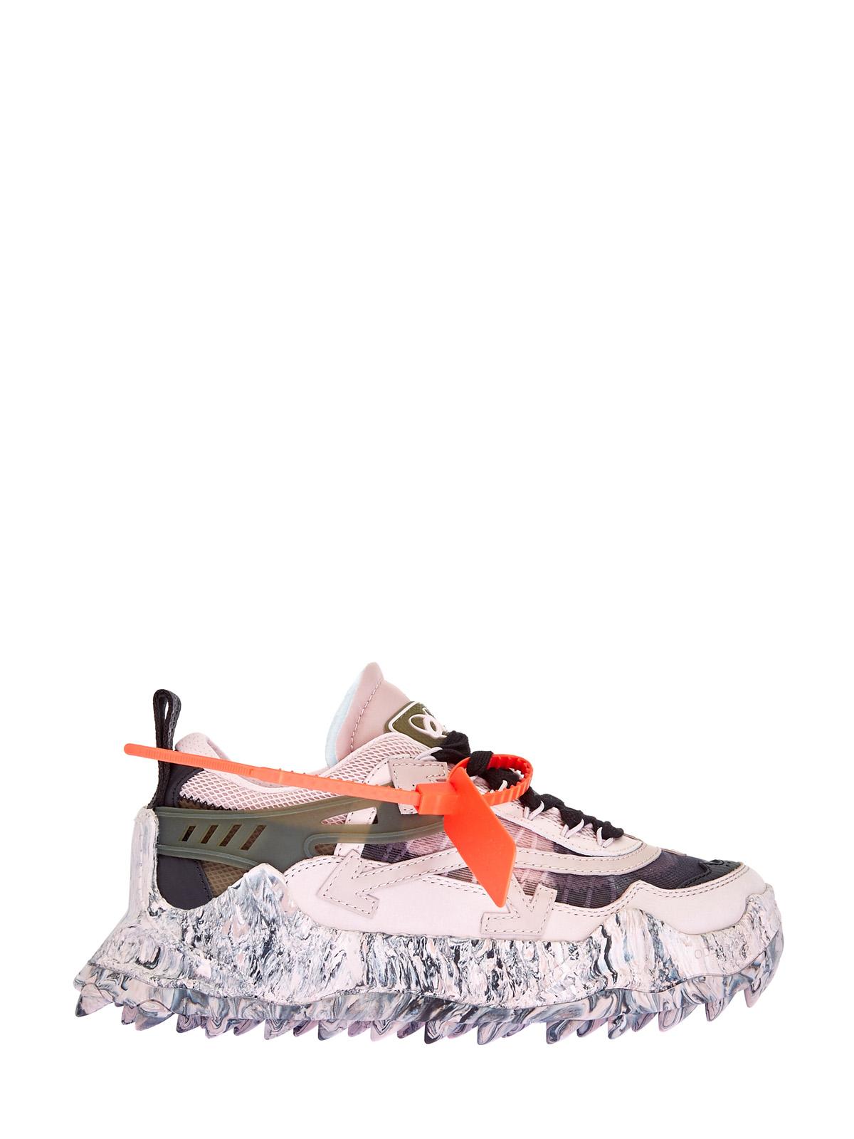Комбинированные кроссовки Odsy-1000 с мраморным декором ранта