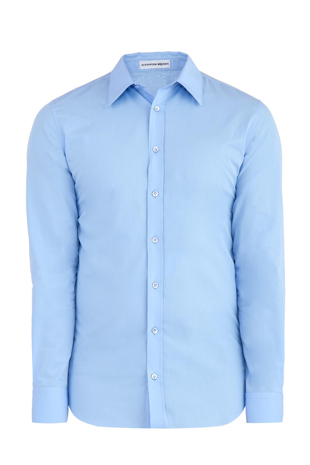 Купить Рубашка, ALEXANDER MCQUEEN, Италия, хлопок 97%, эластан 3%