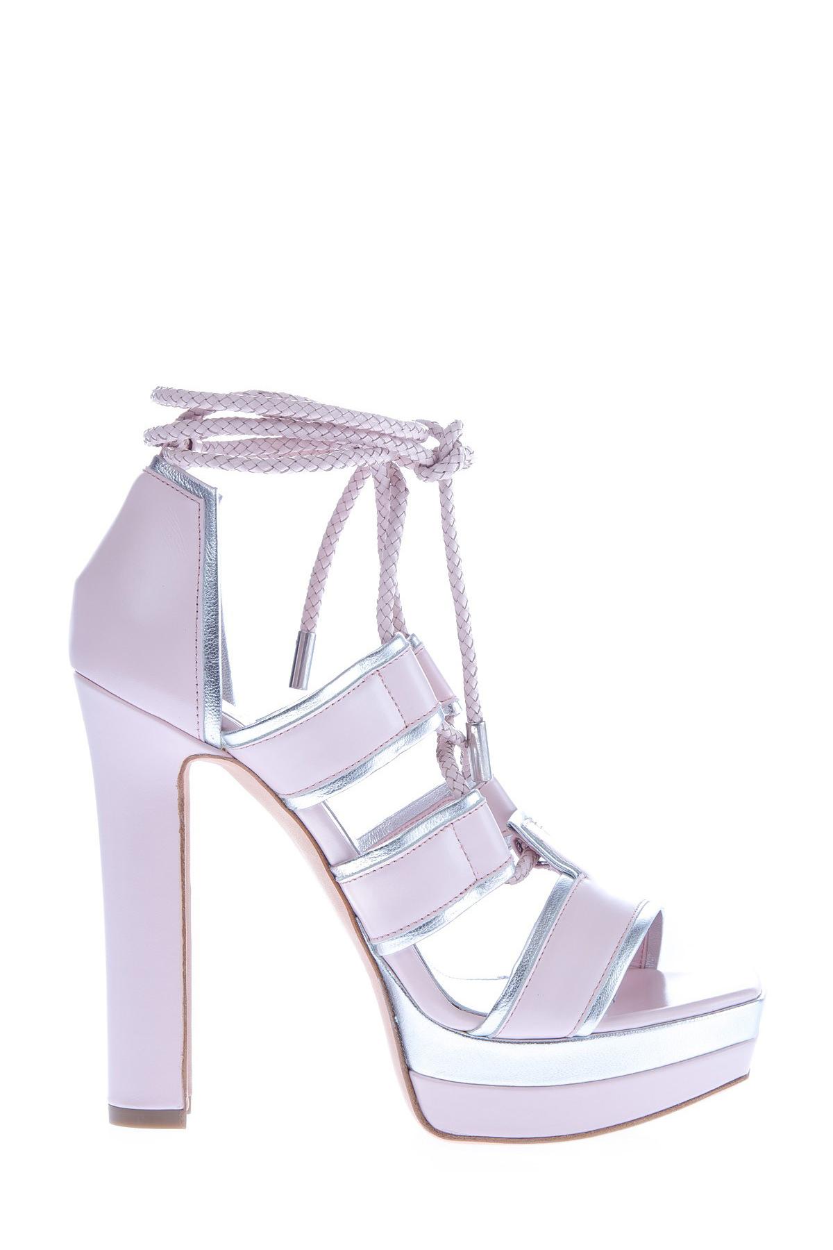 женские босоножки на каблуке alexander mcqueen