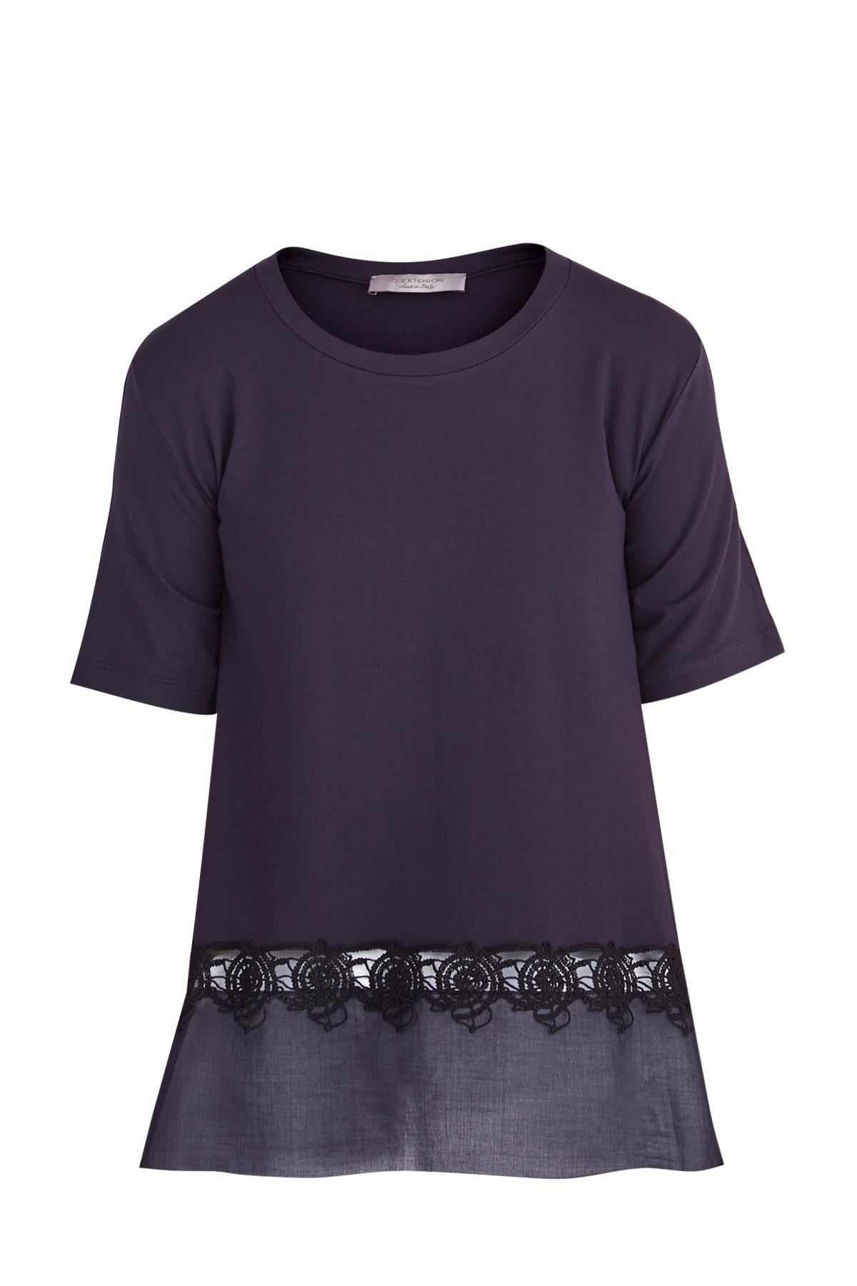 блузкаБлузки, рубашки<br><br>Материал: вискоза 95% ,  эластан 5% ,  хлопок 100%;