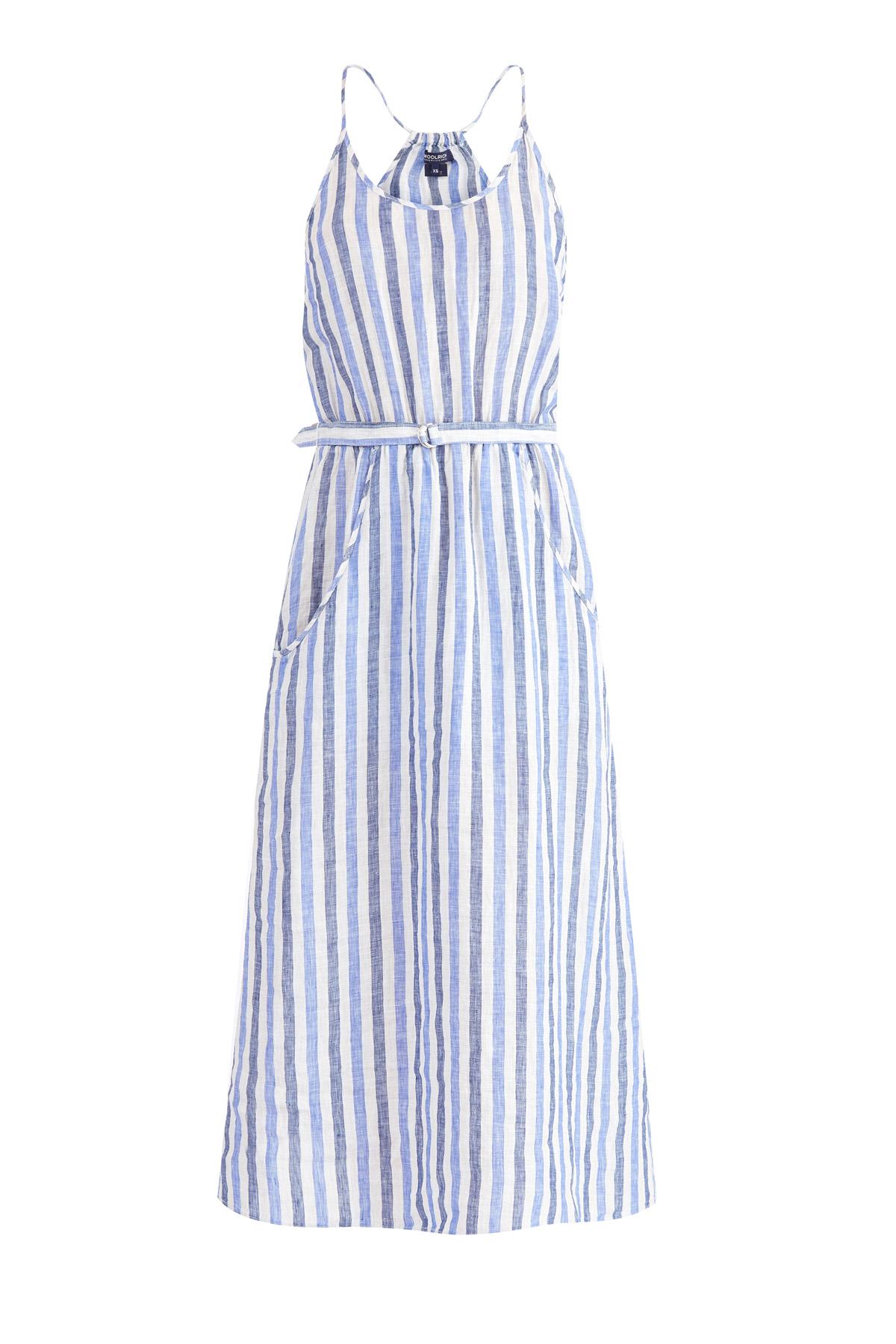 Купить Платье, WOOLRICH, Италия, лен 100%