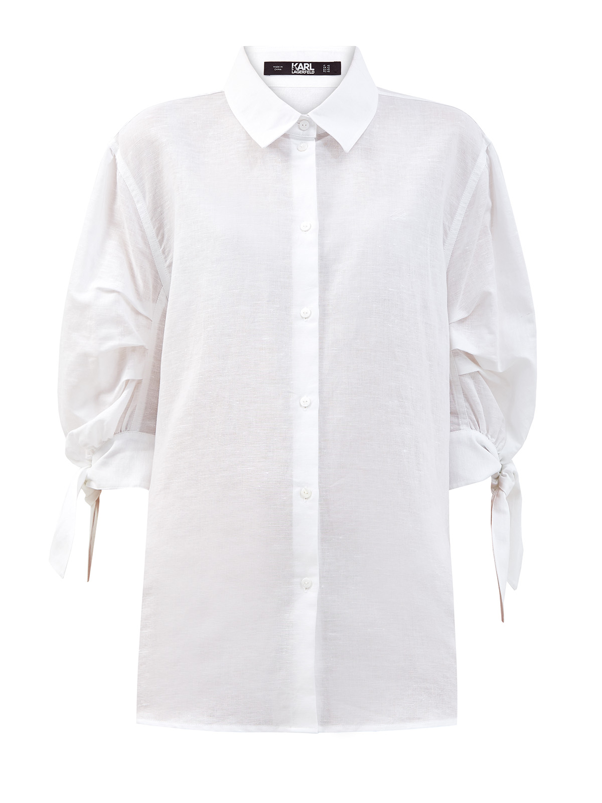 женская рубашка karl lagerfeld