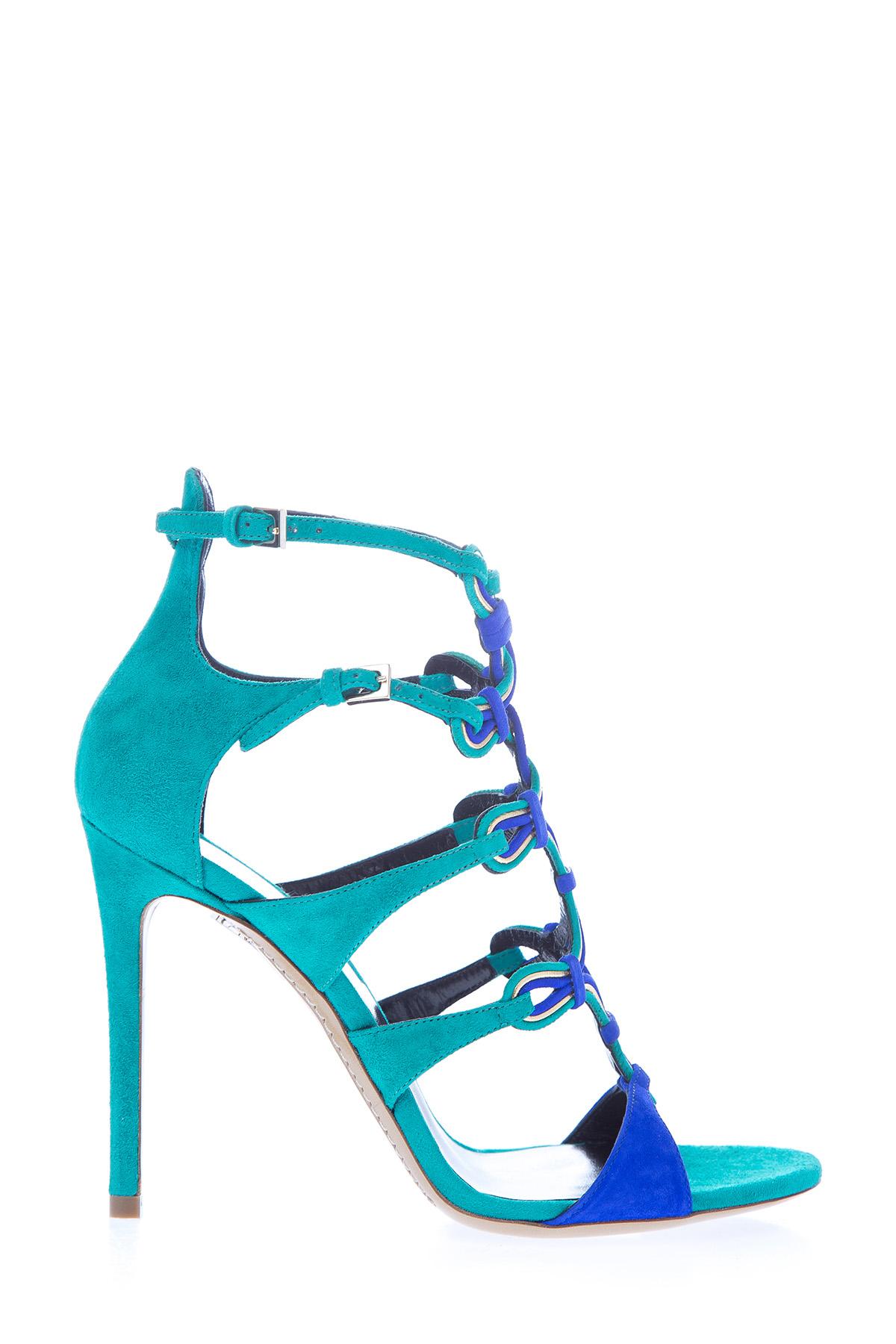 женские босоножки на каблуке etro