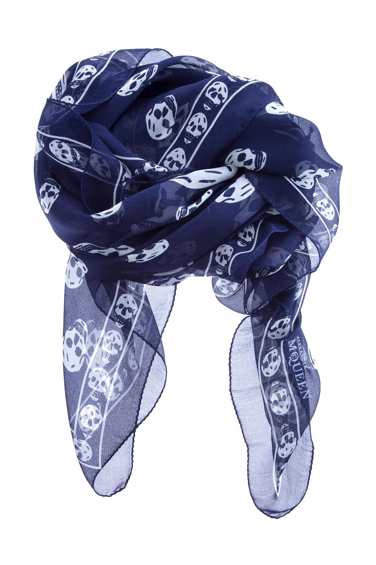 мужской шарф alexander mcqueen