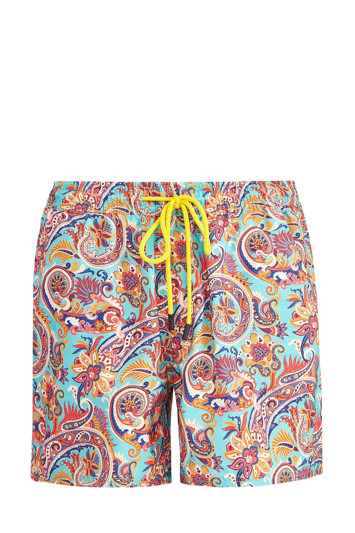 Купить со скидкой Плавательные шорты с принтом пейсли