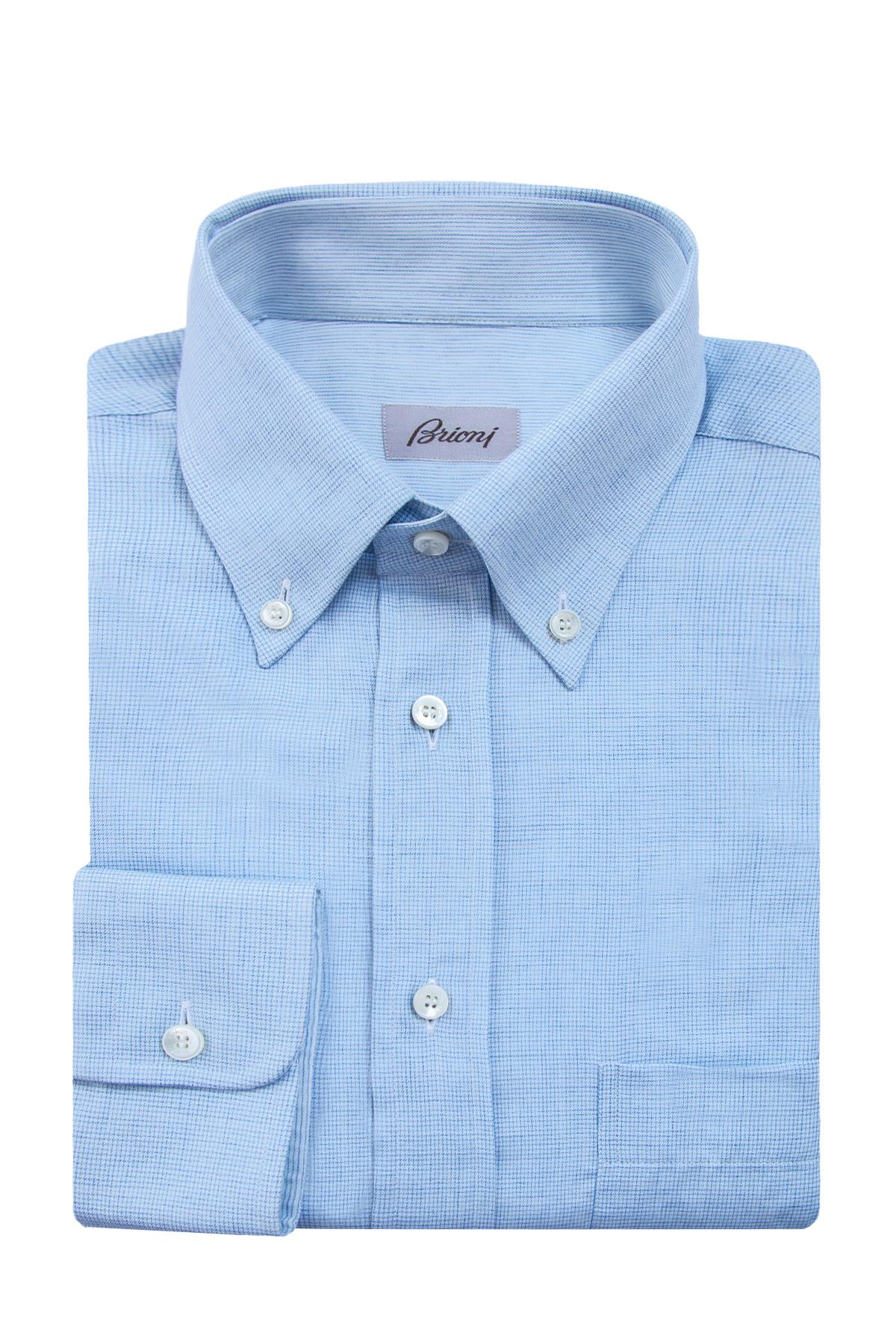 Купить Рубашка, BRIONI, Италия, 85% хлопок, 15% кашемир