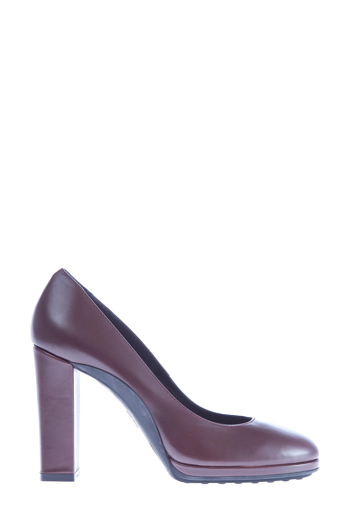 женские туфли на каблуке tod's