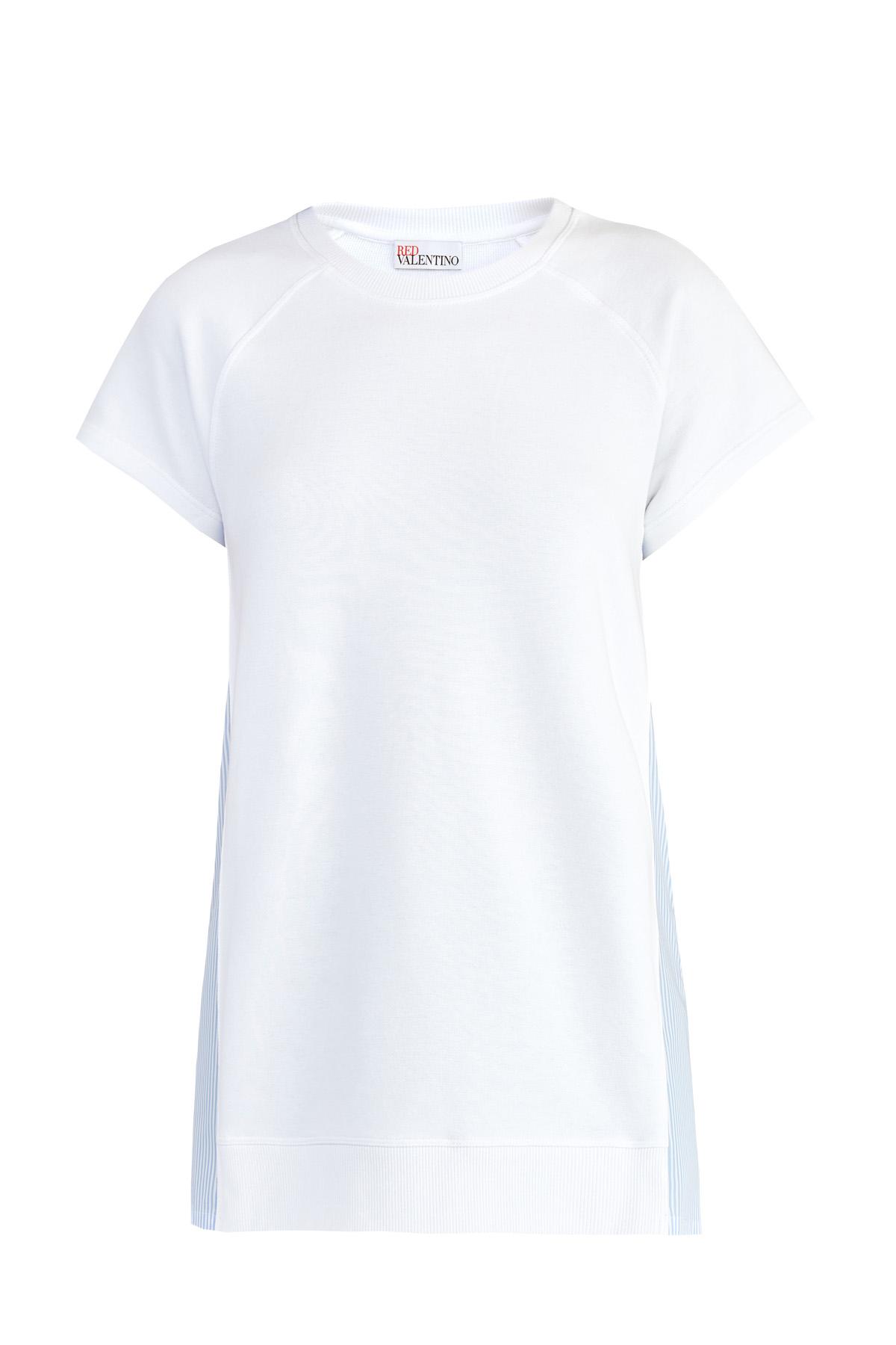 женская спортивные футболка red valentino
