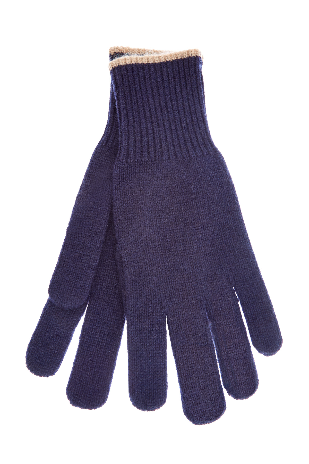 Кашемировые перчатки в технике эластичной вязки