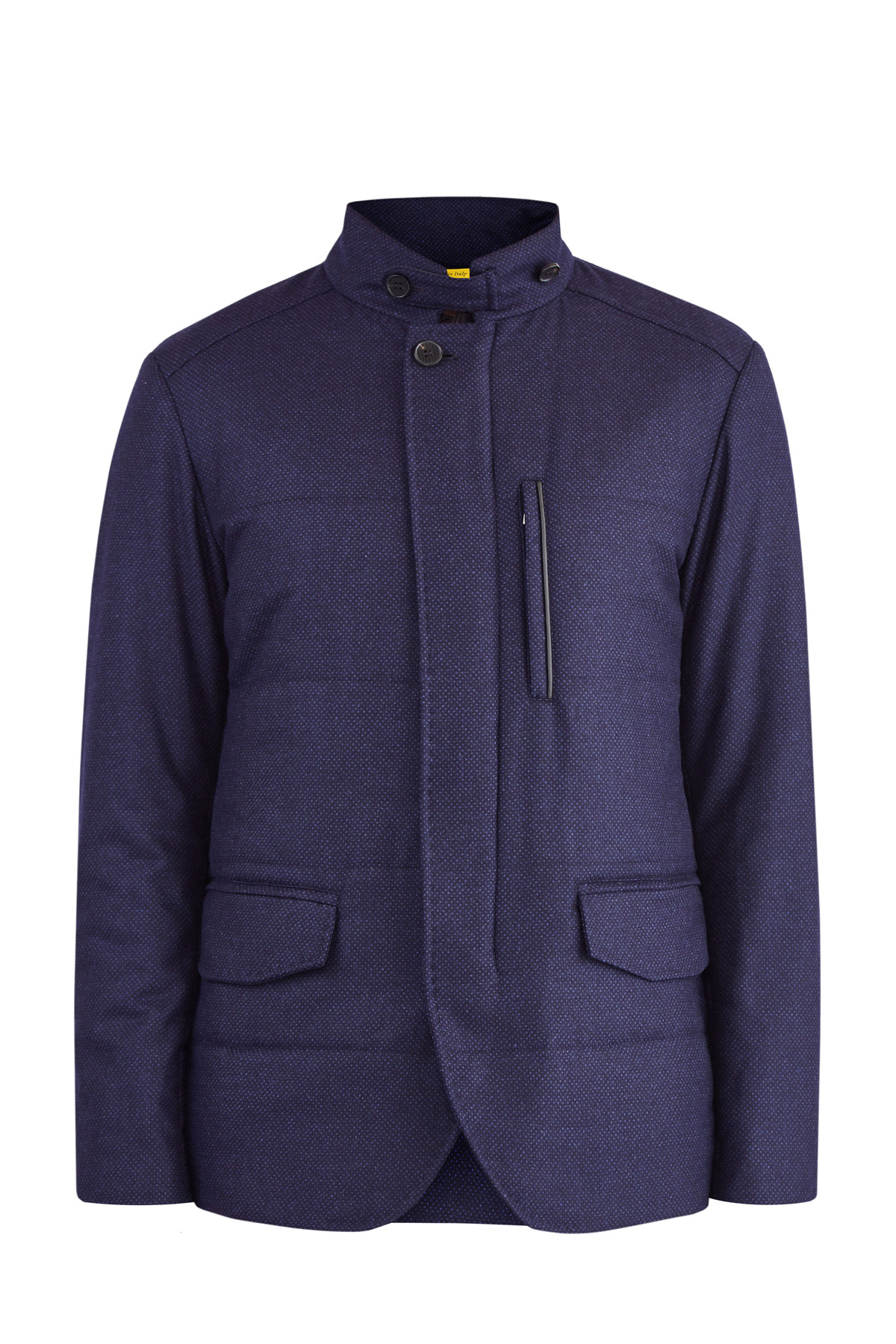 Шерстяная куртка-блейзер в классическом стиле с защитой от воды фото