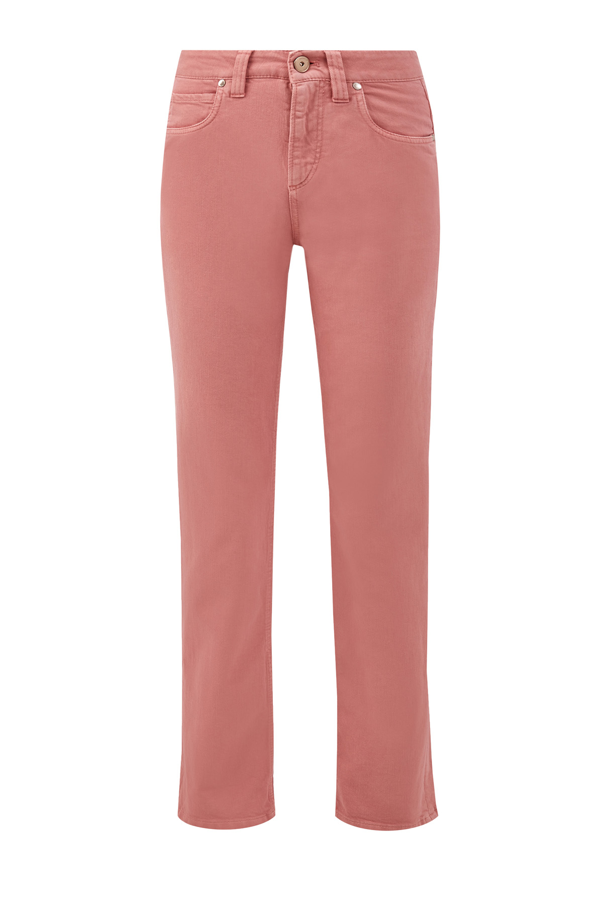 Укороченные джинсы из хлопкового денима Soft