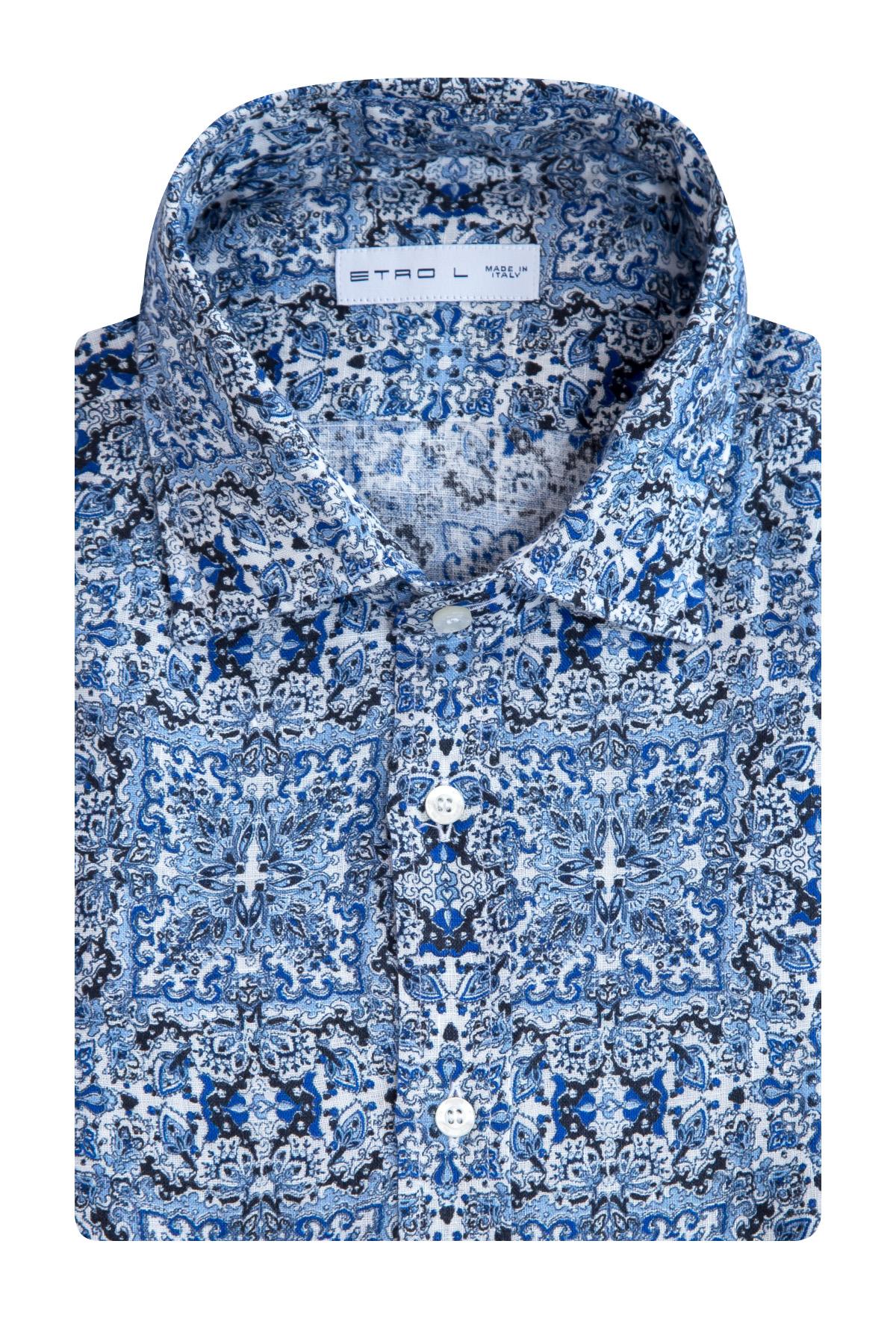 Купить Рубашка, ETRO, Италия, лен 100%